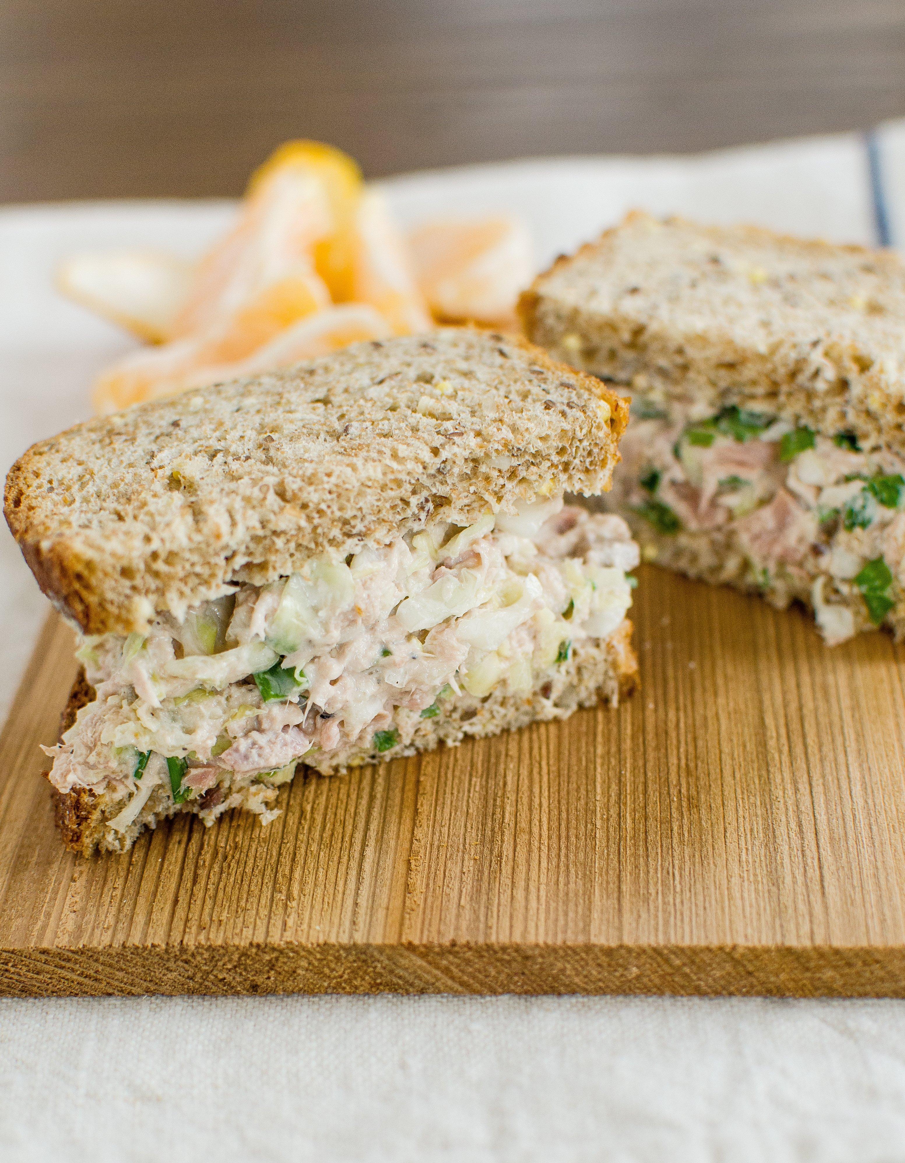 Crisp Tuna Cabbage Salad