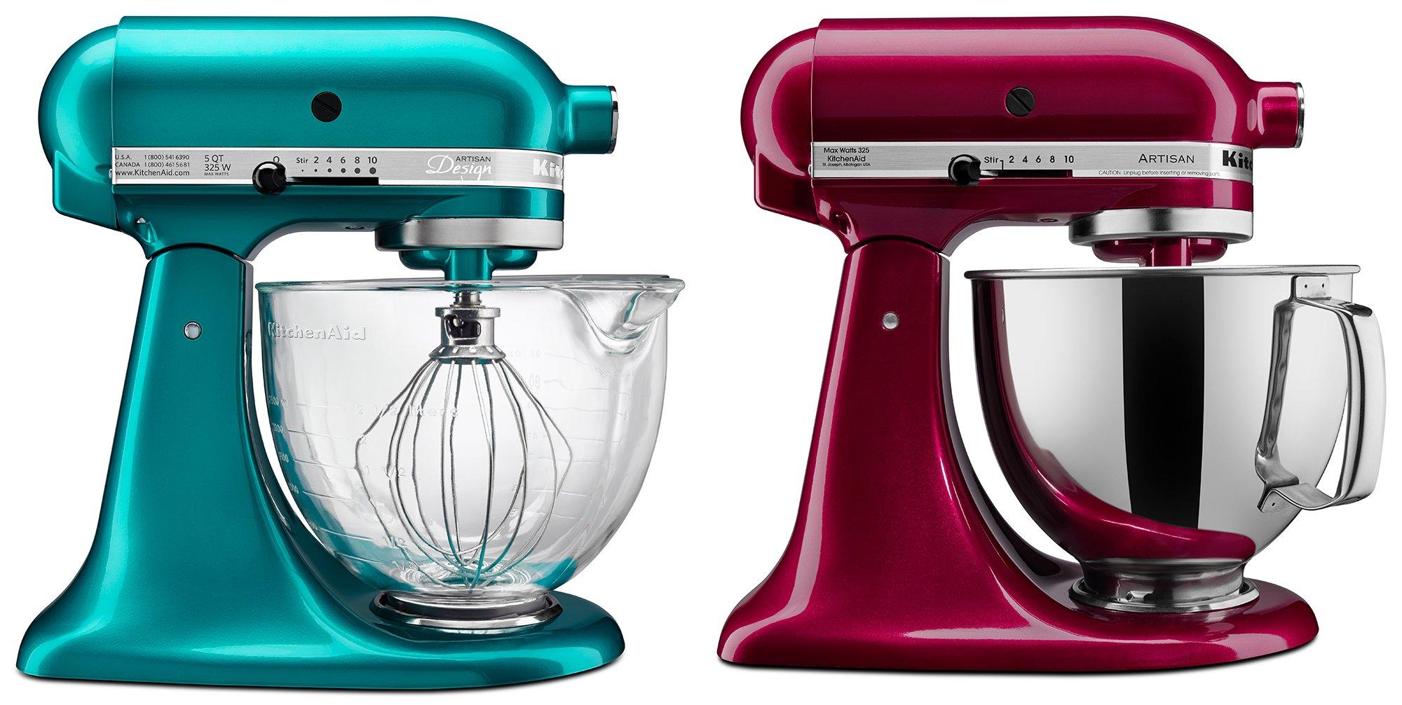 KitchenAid\'s New Mixer Colors for 2014: Sea Glass, Bordeaux ...