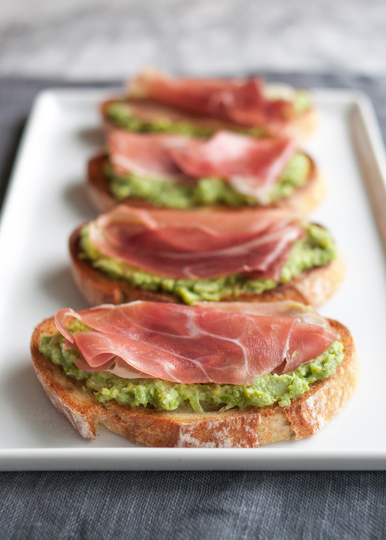 Recipe: Asparagus & Prosciutto Crostini | Kitchn