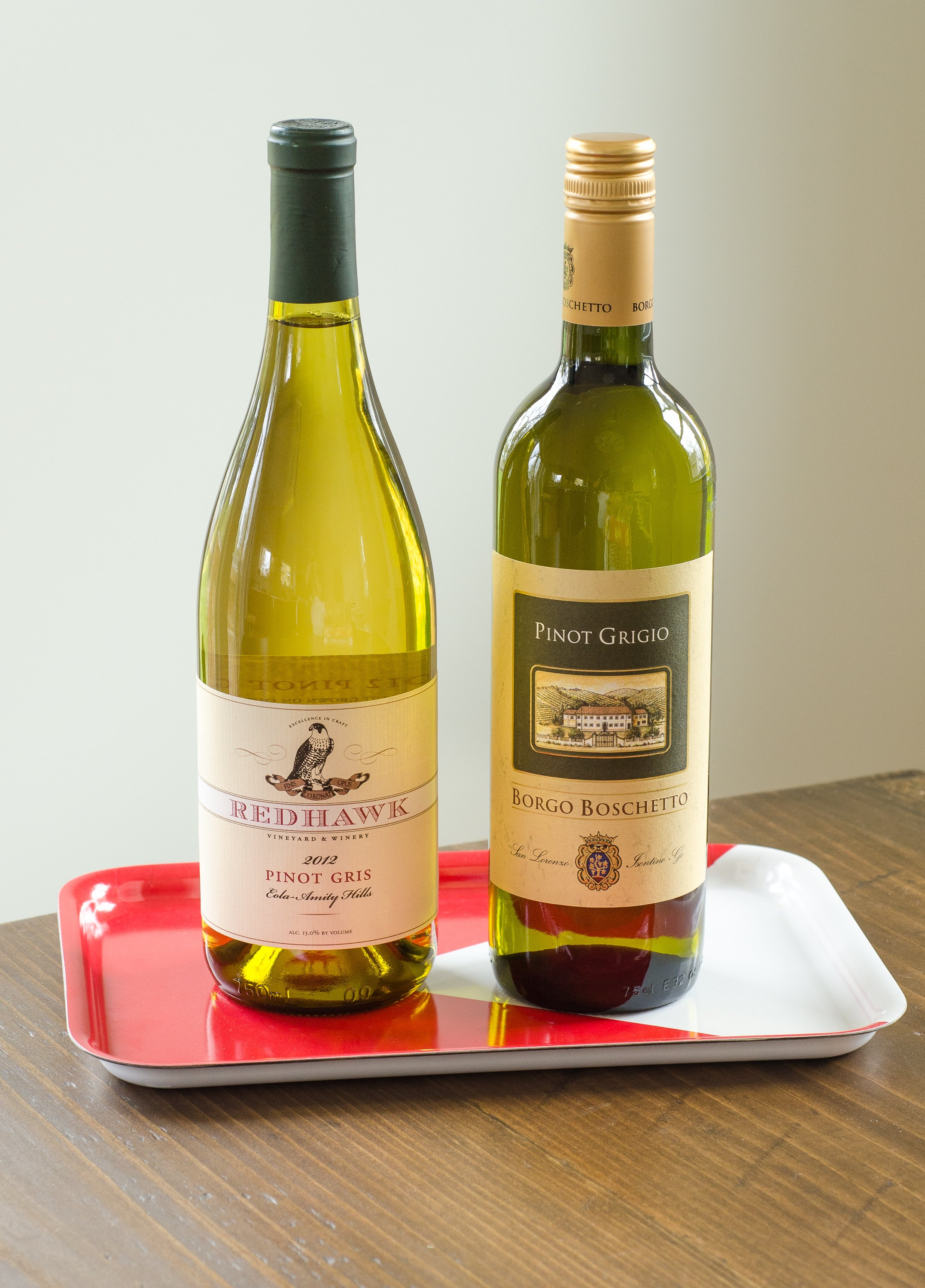 What's the Difference Between Pinot Gris and Pinot Grigio
