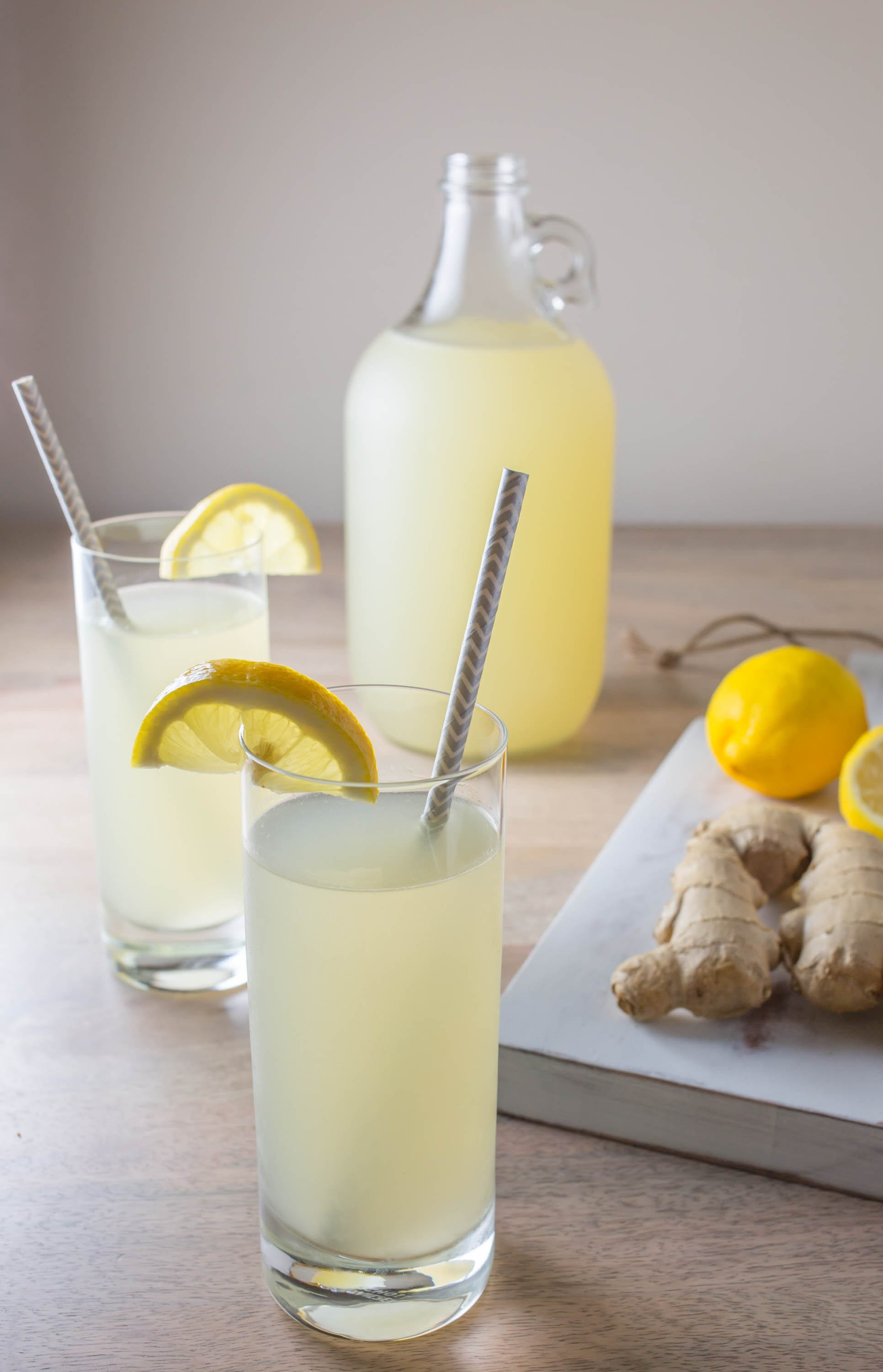 Recipe Spicy Ginger Lemonade Kitchn