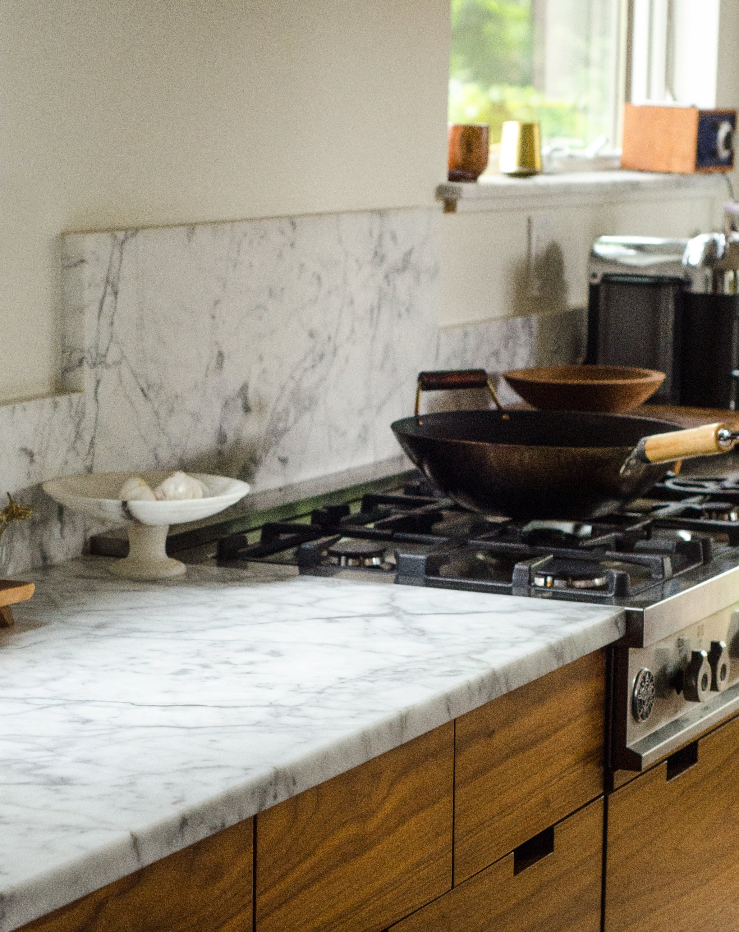 Here S What An Etch On A Marble Countertop Actually Looks Like Kitchn