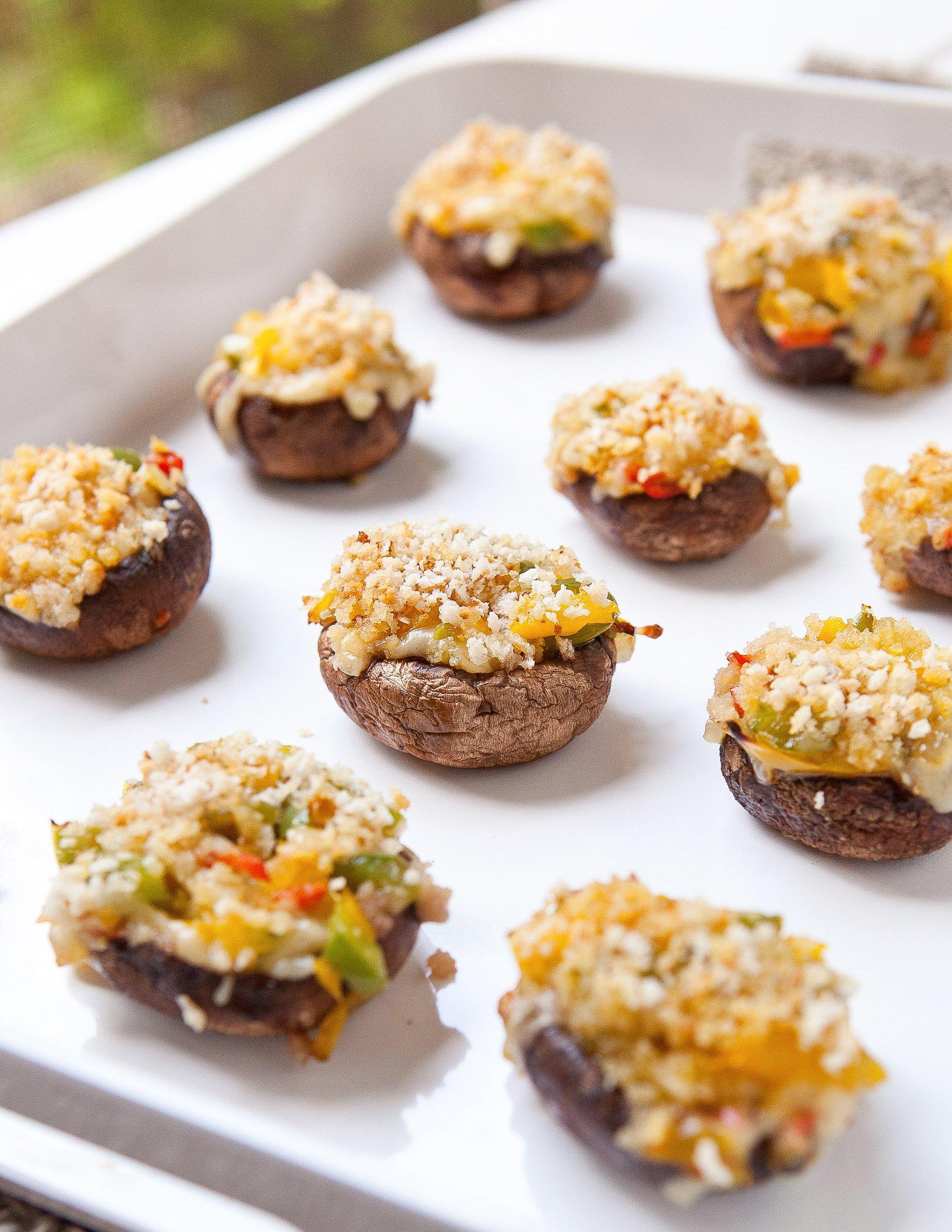 Recipe: Grilled Stuffed Mushrooms | Kitchn