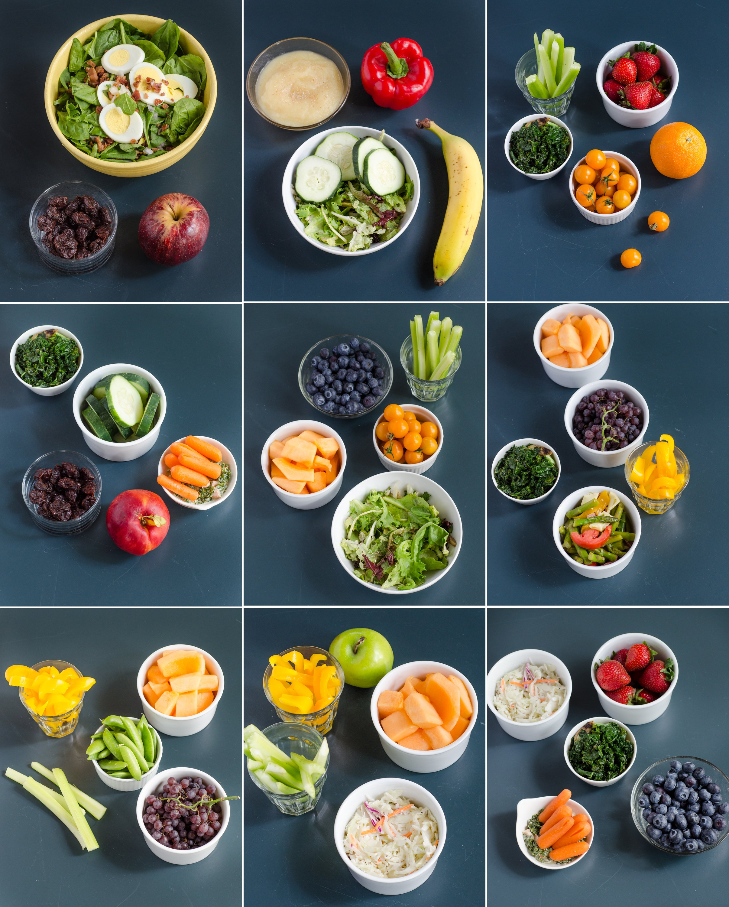 Here Are 10 Pictures of Your Daily Recommended Servings of Fruits & Vegetables | Kitchn