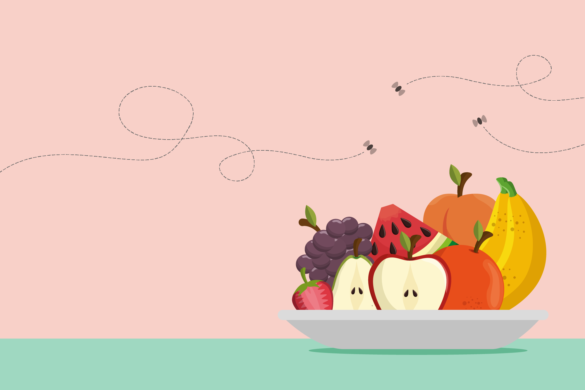 How To Get Rid Of Fruit Flies   Kitchn