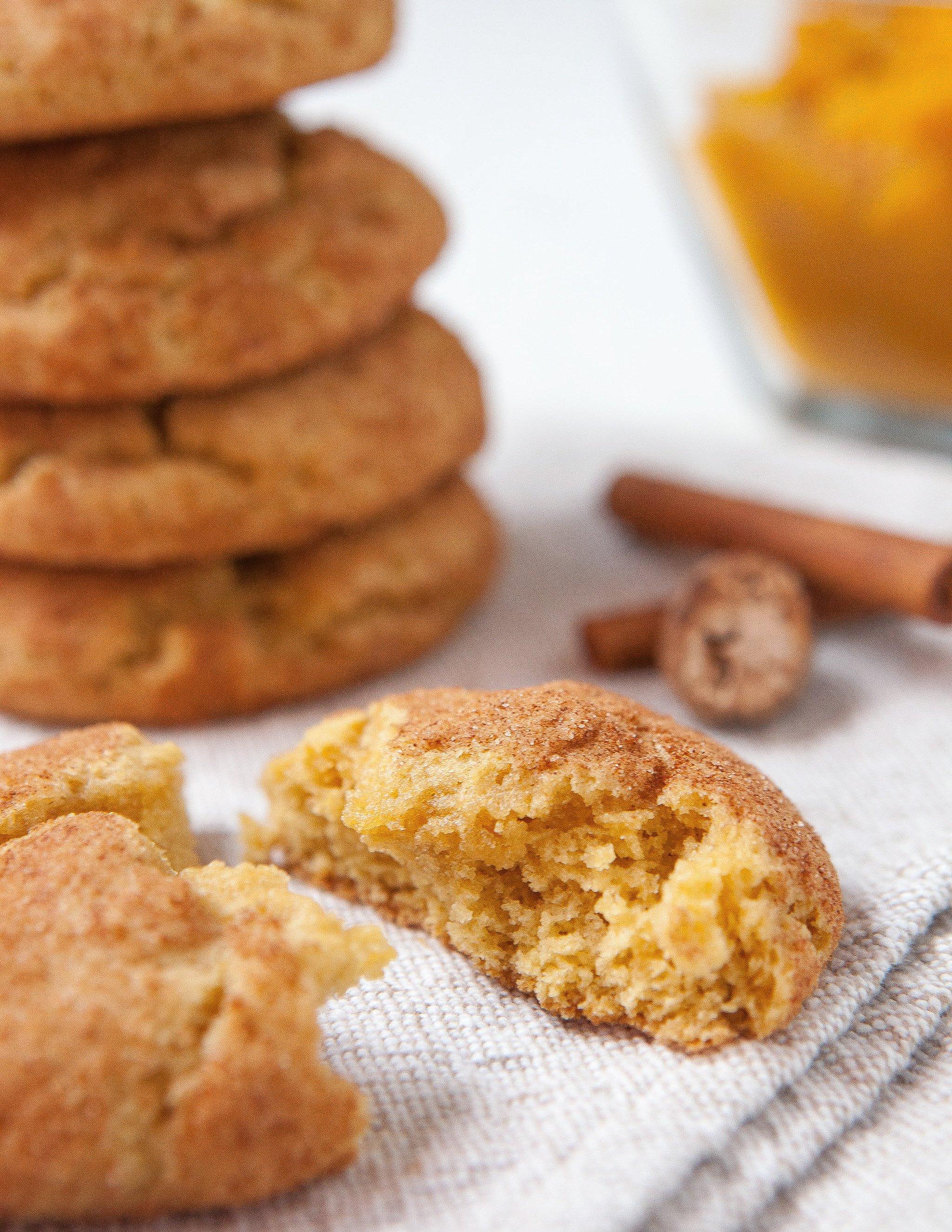 Recipe: Pumpkin Snickerdoodle Cookies | Kitchn