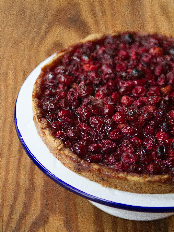 Recipe: Cranberry Tart with Nut Crust | Kitchn