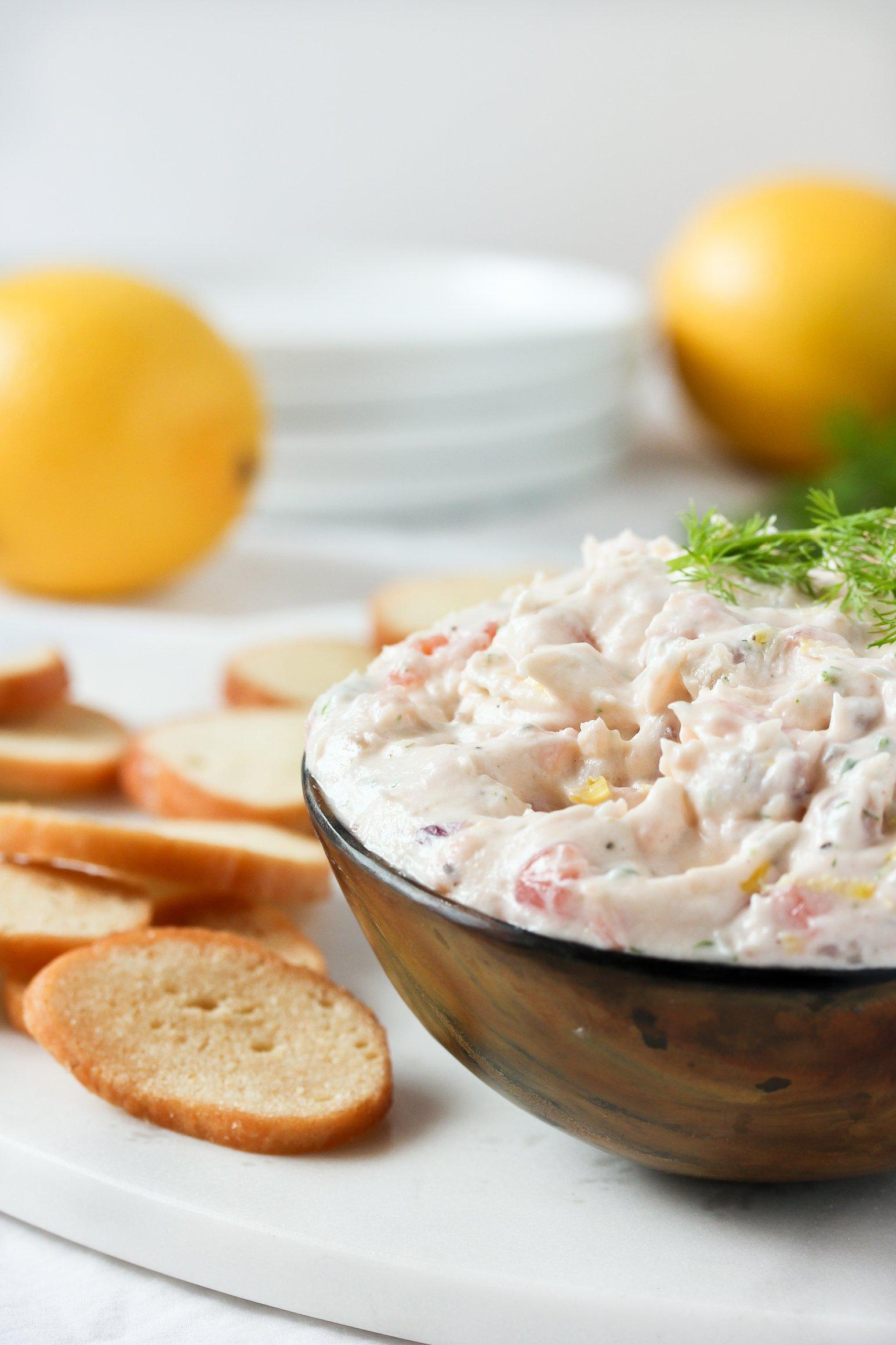 Recipe: Smoked Salmon Dip | Kitchn