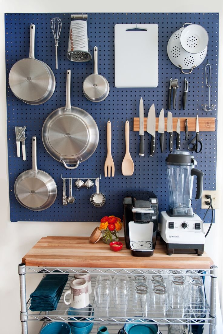 In Case You Forgot, Kitchen Pegboards Are Pretty Awesome | Kitchn