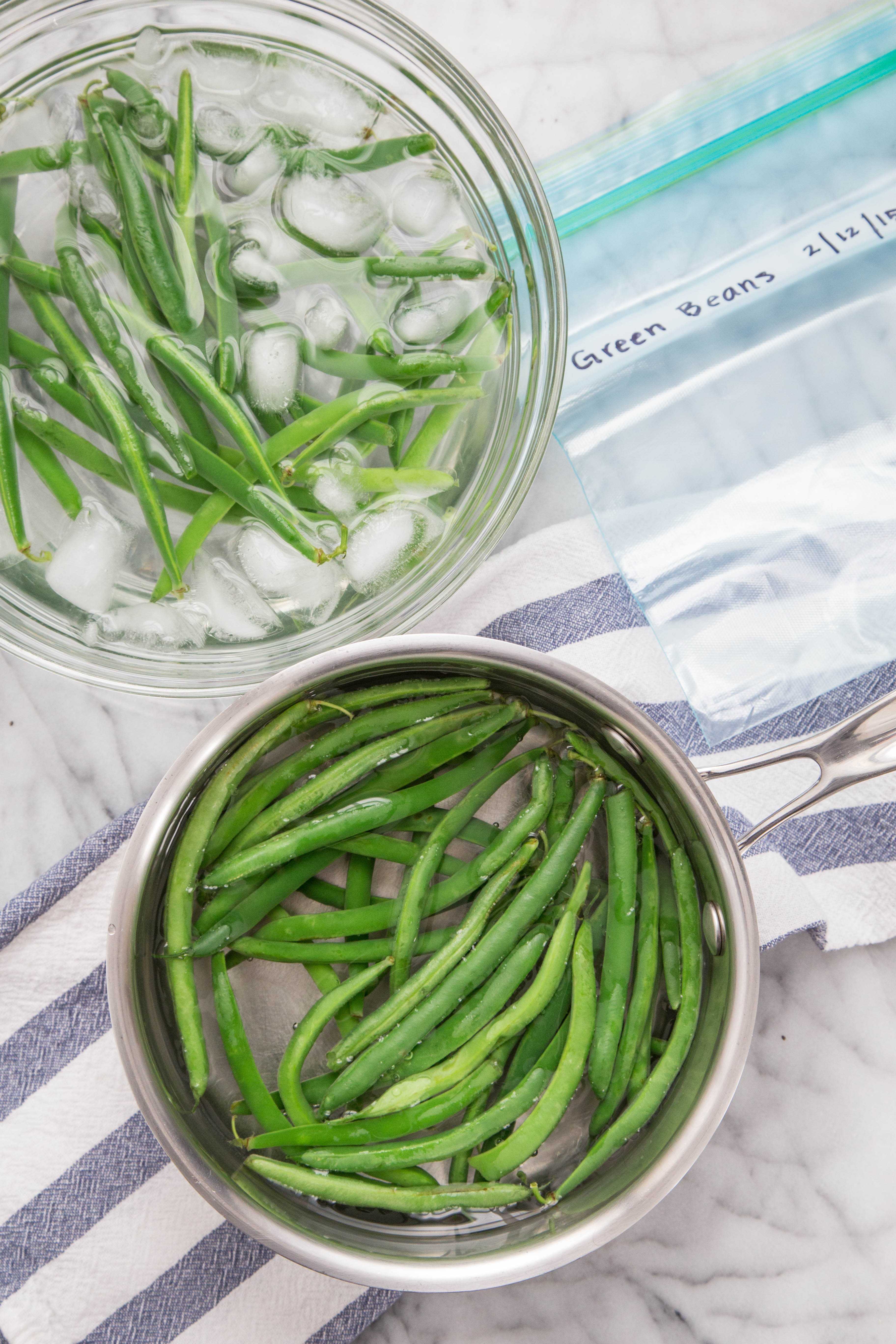 Why You Should Blanch Vegetables Before Freezing Kitchn
