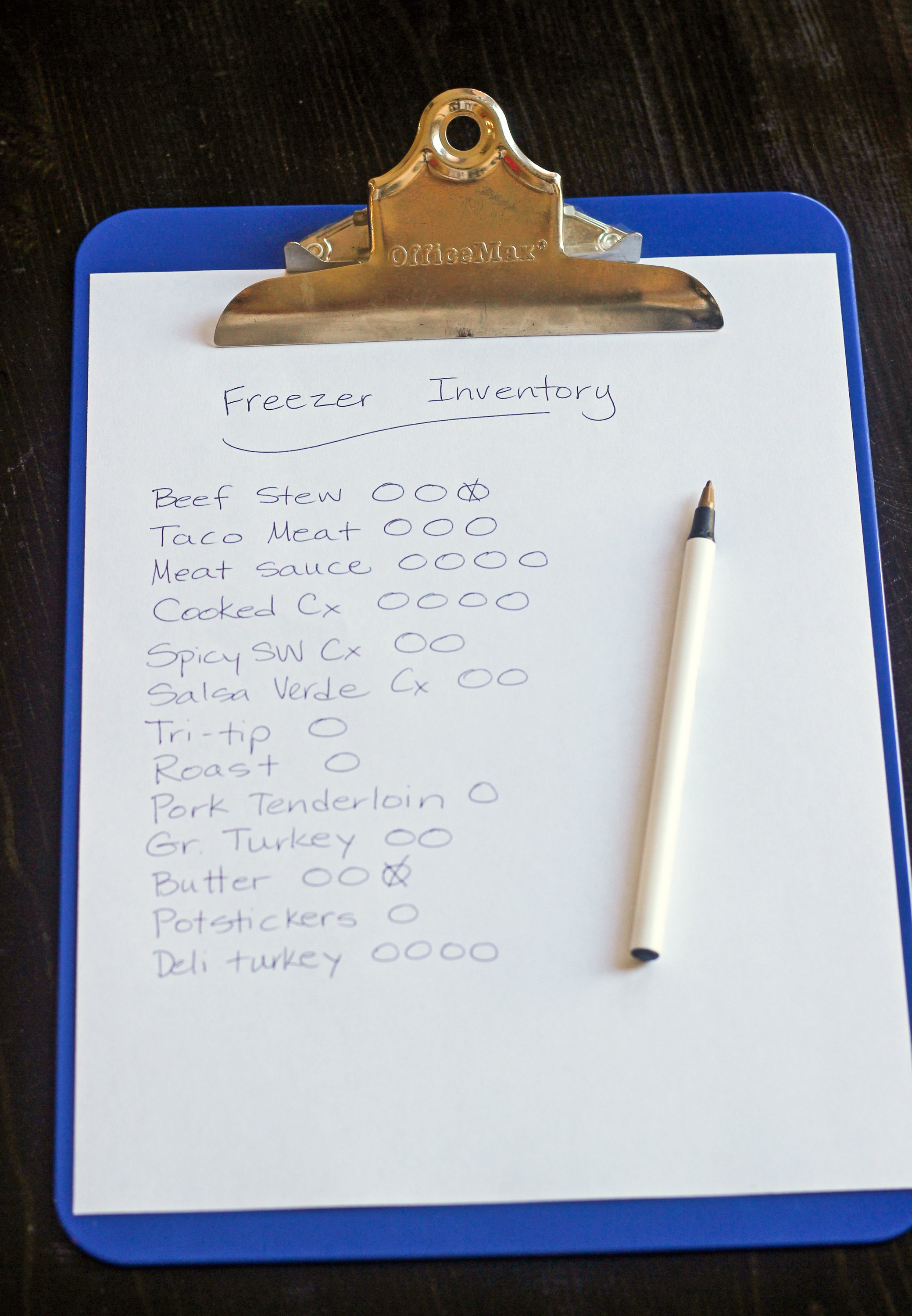 How I Take a Freezer Inventory That Works | Kitchn