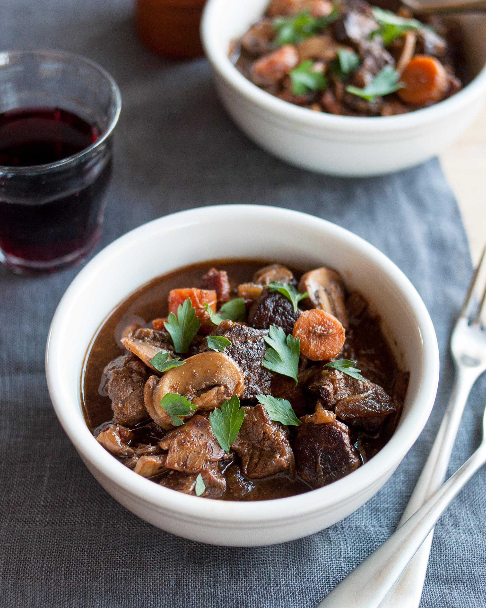 Recipe: Slow Cooker Boeuf Bourguignon | Kitchn