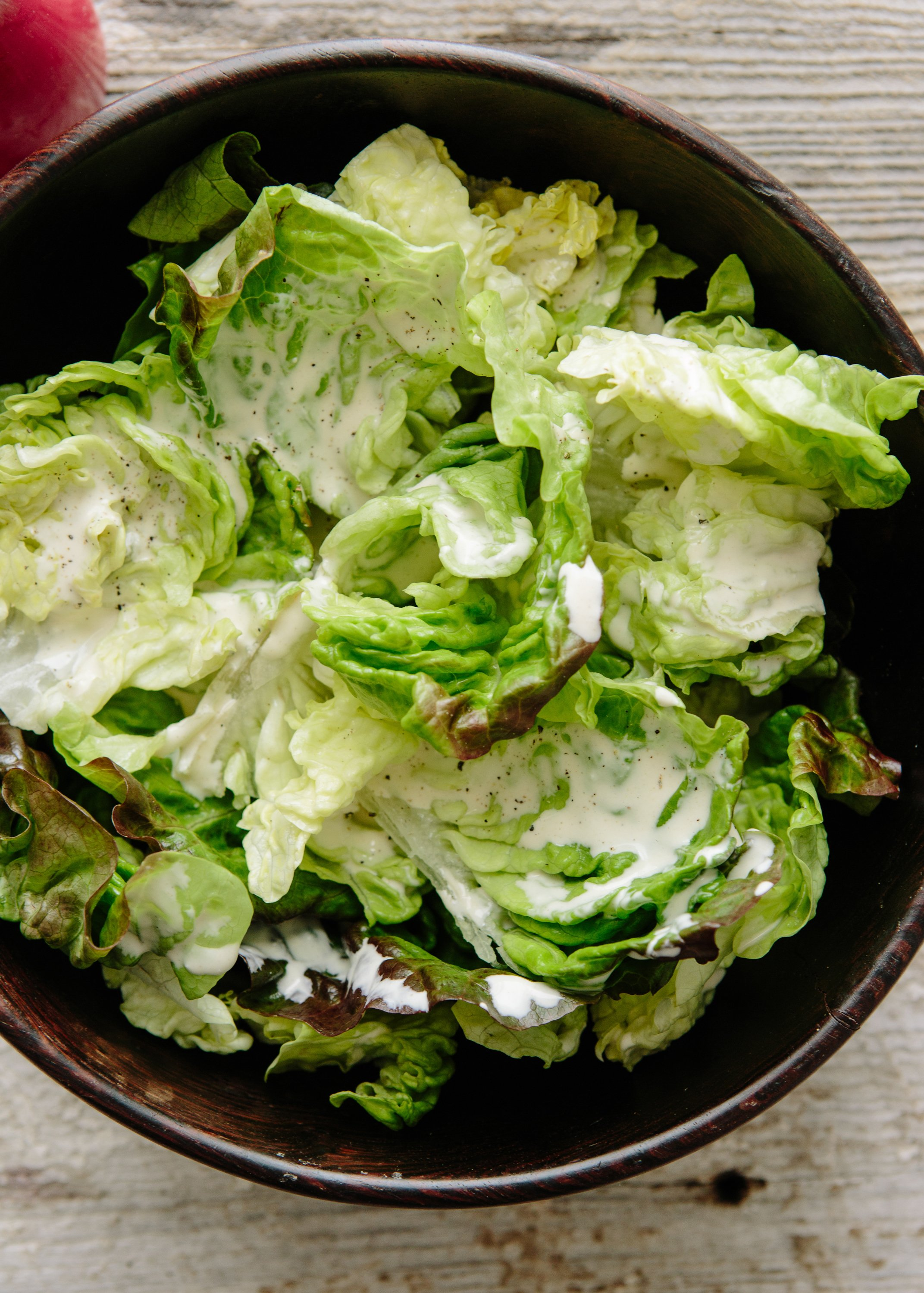 Two Minute Creamy Salad Dressing