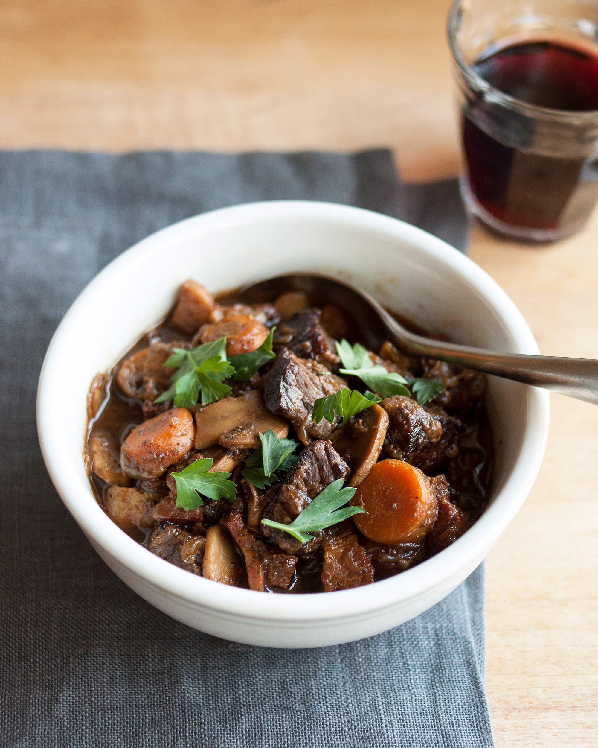 Image result for . French Boeuf Bourguignon from The Kitchn
