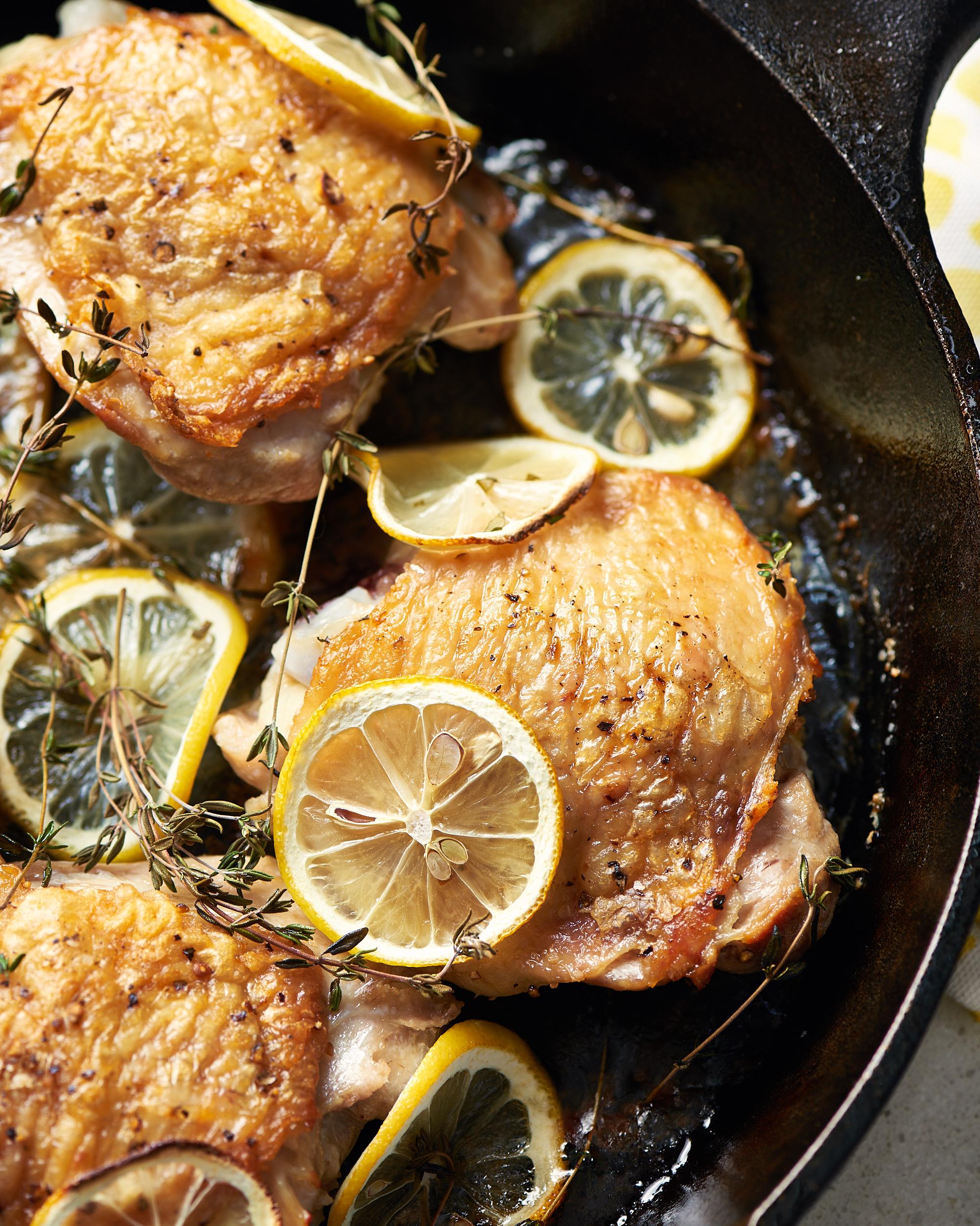 Lemon Thyme Chicken Thighs Kitchn