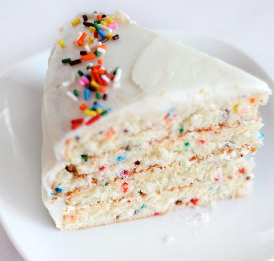 Recipe Funfetti Birthday Cake