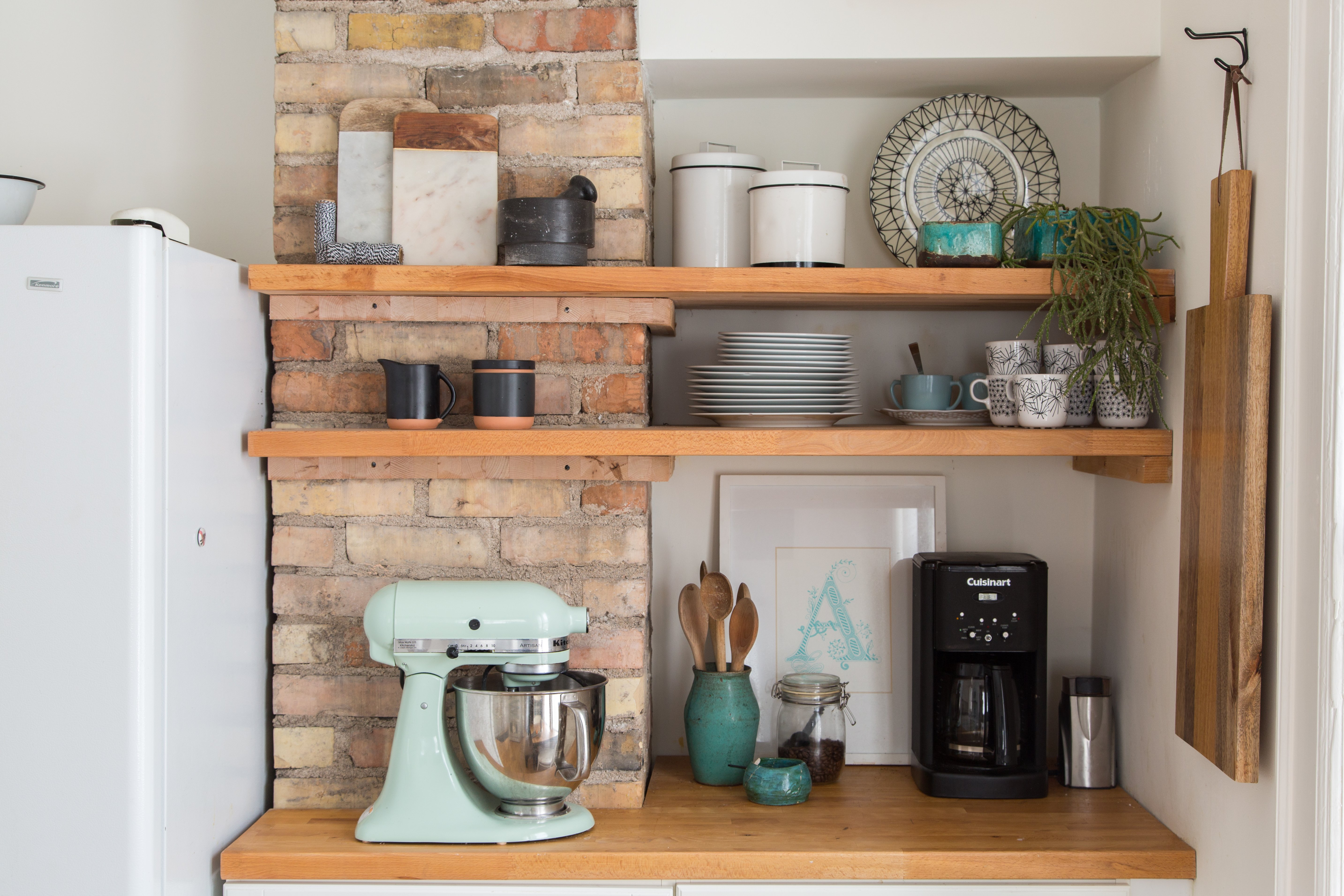10 Snazzy Ways To Organize And Store Small Appliances Kitchn