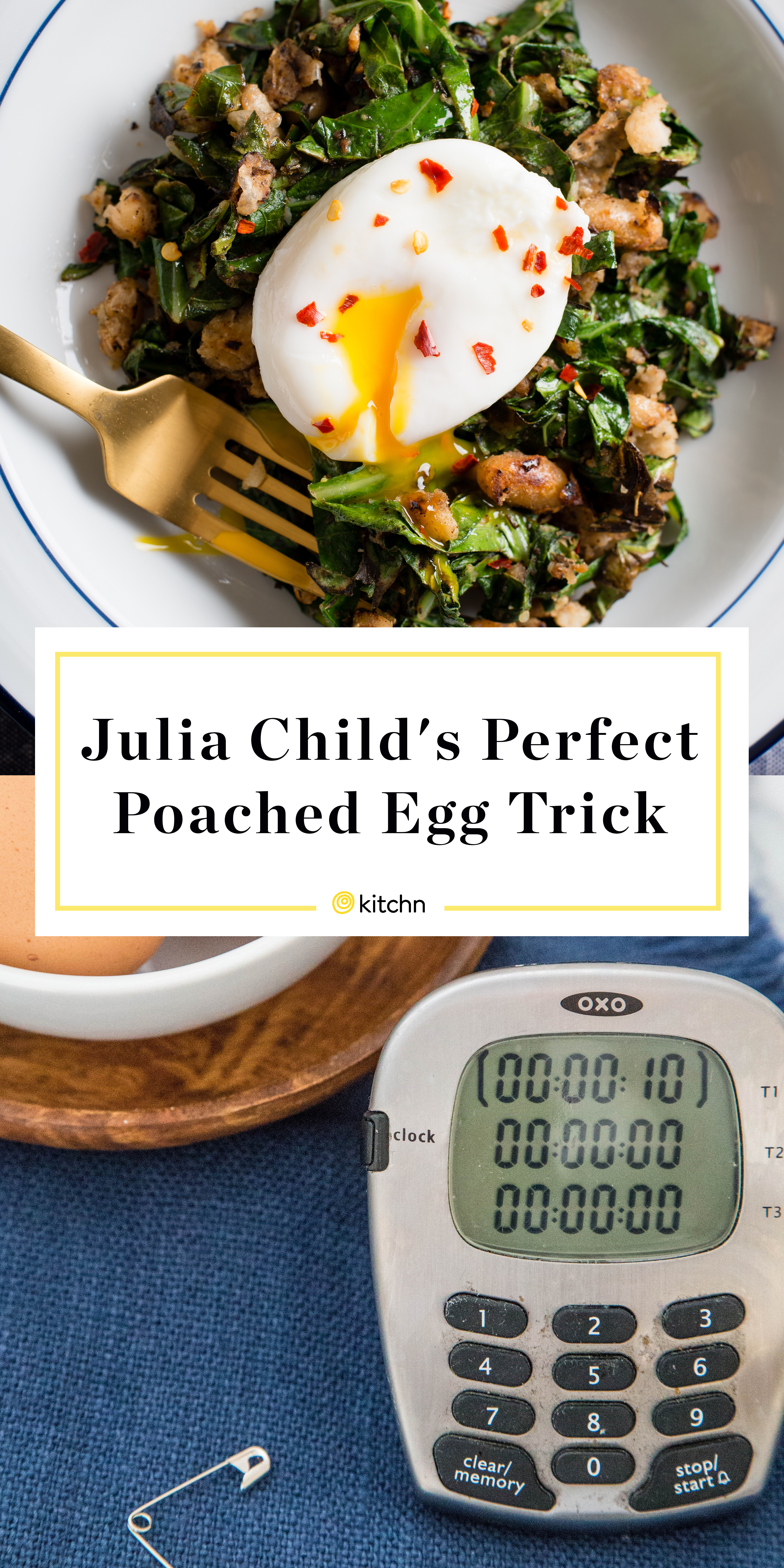 Julia Child Simple Trick Perfect Poached Eggs   Kitchn