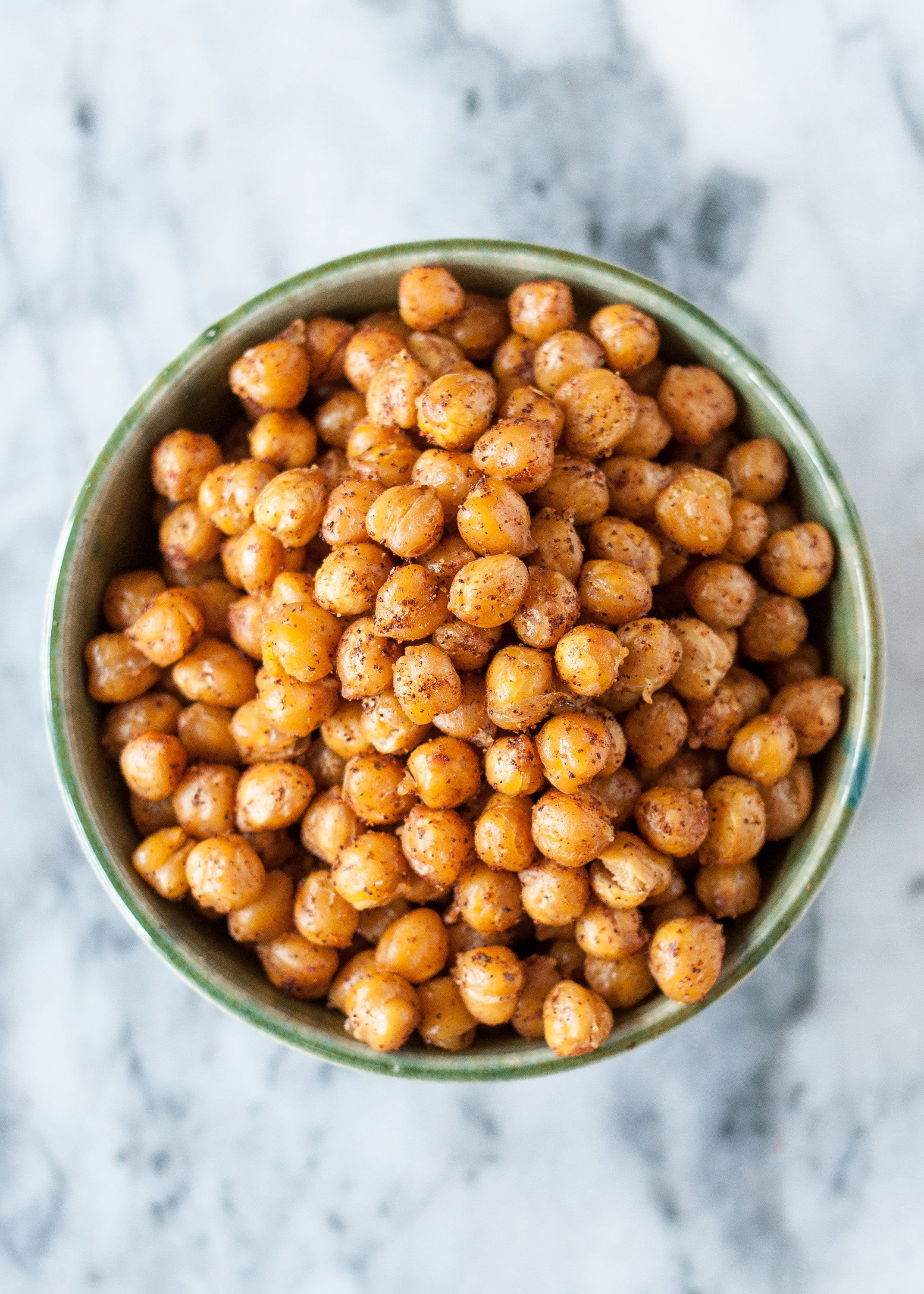 How To Make Crispy Roasted Chickpeas In The Oven Kitchn