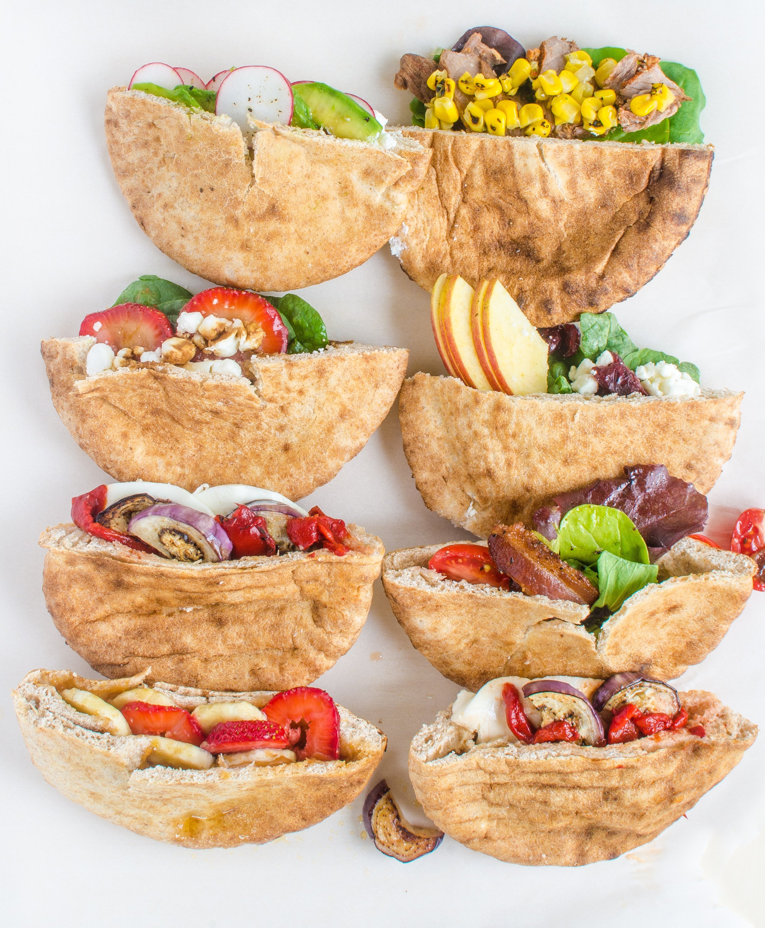 10 Easy Ways To Stuff A Pita Pocket Kitchn