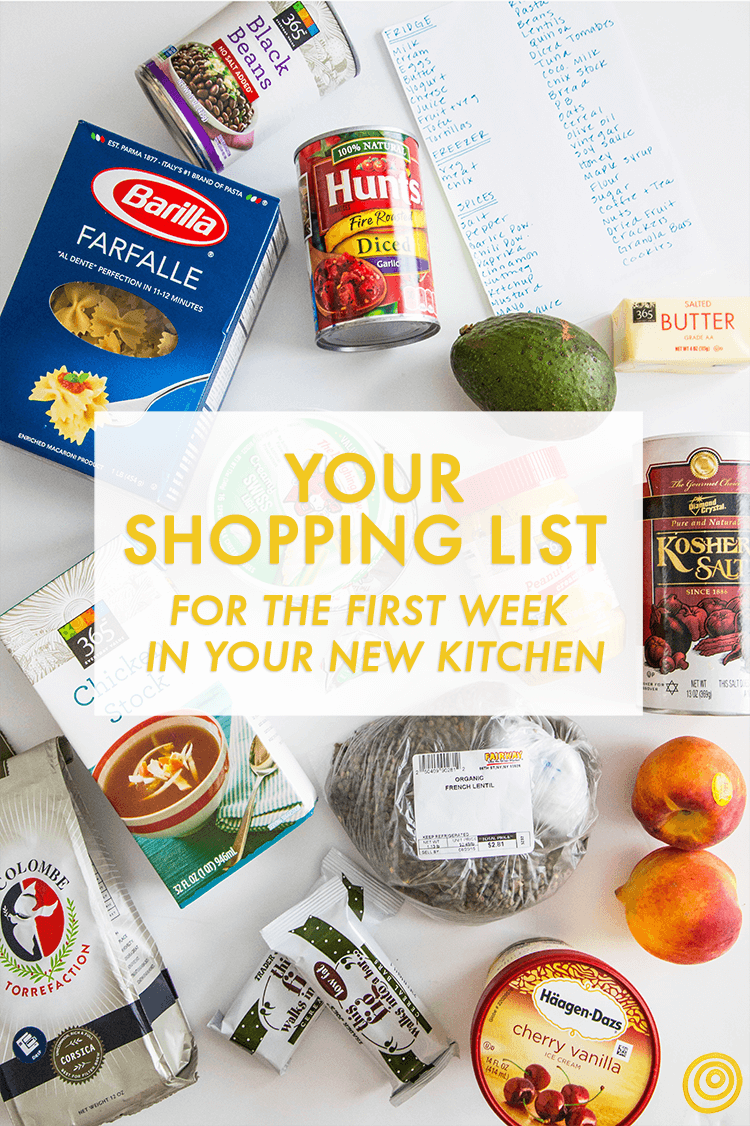 Grocery Store Shopping List Essentials Kitchn