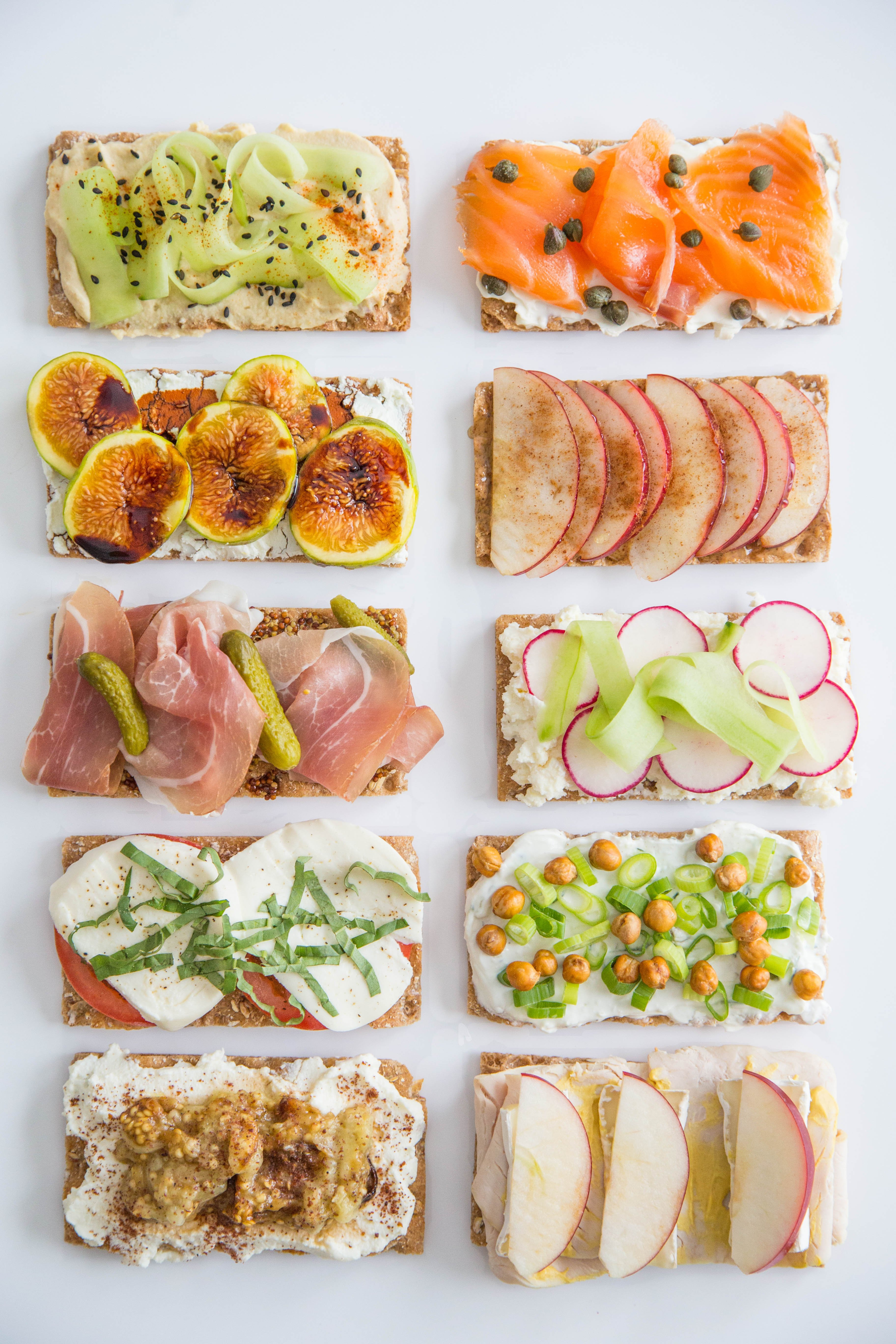 Turn A Wasa Cracker Into A 5 Minute Lunch 10 Ways Kitchn