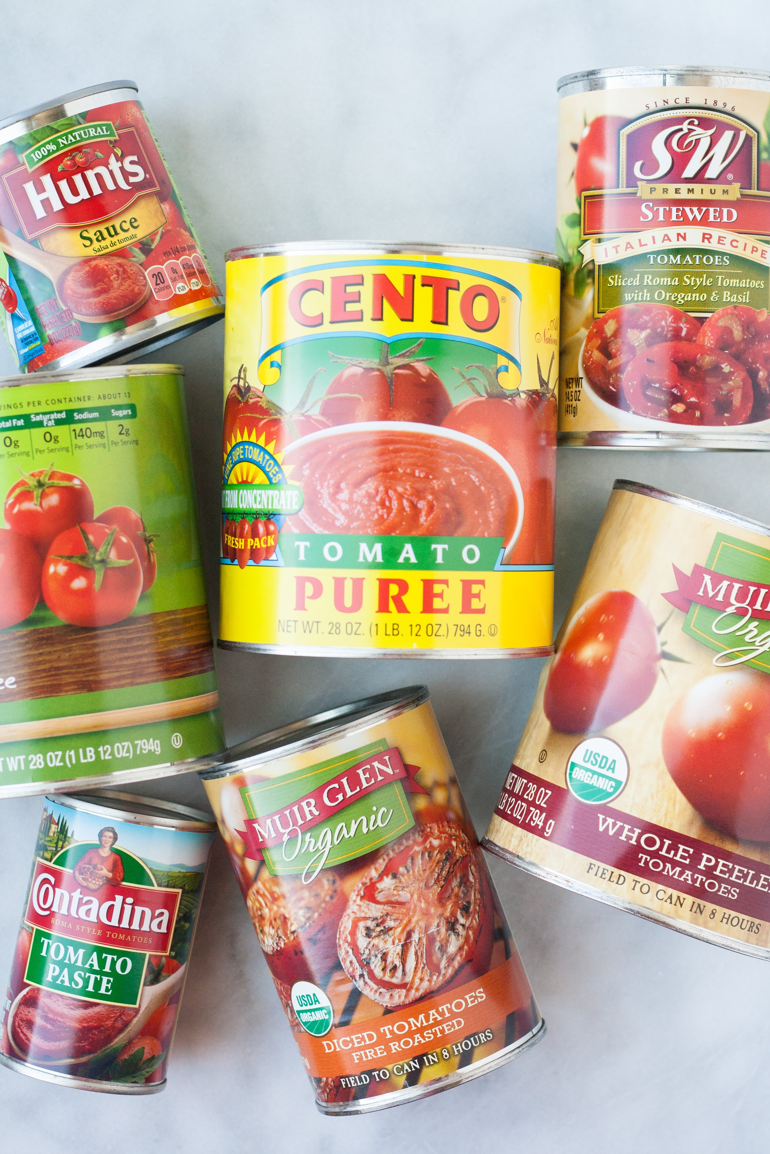 A Visual Guide to the 7 Major Types of Canned Tomatoes