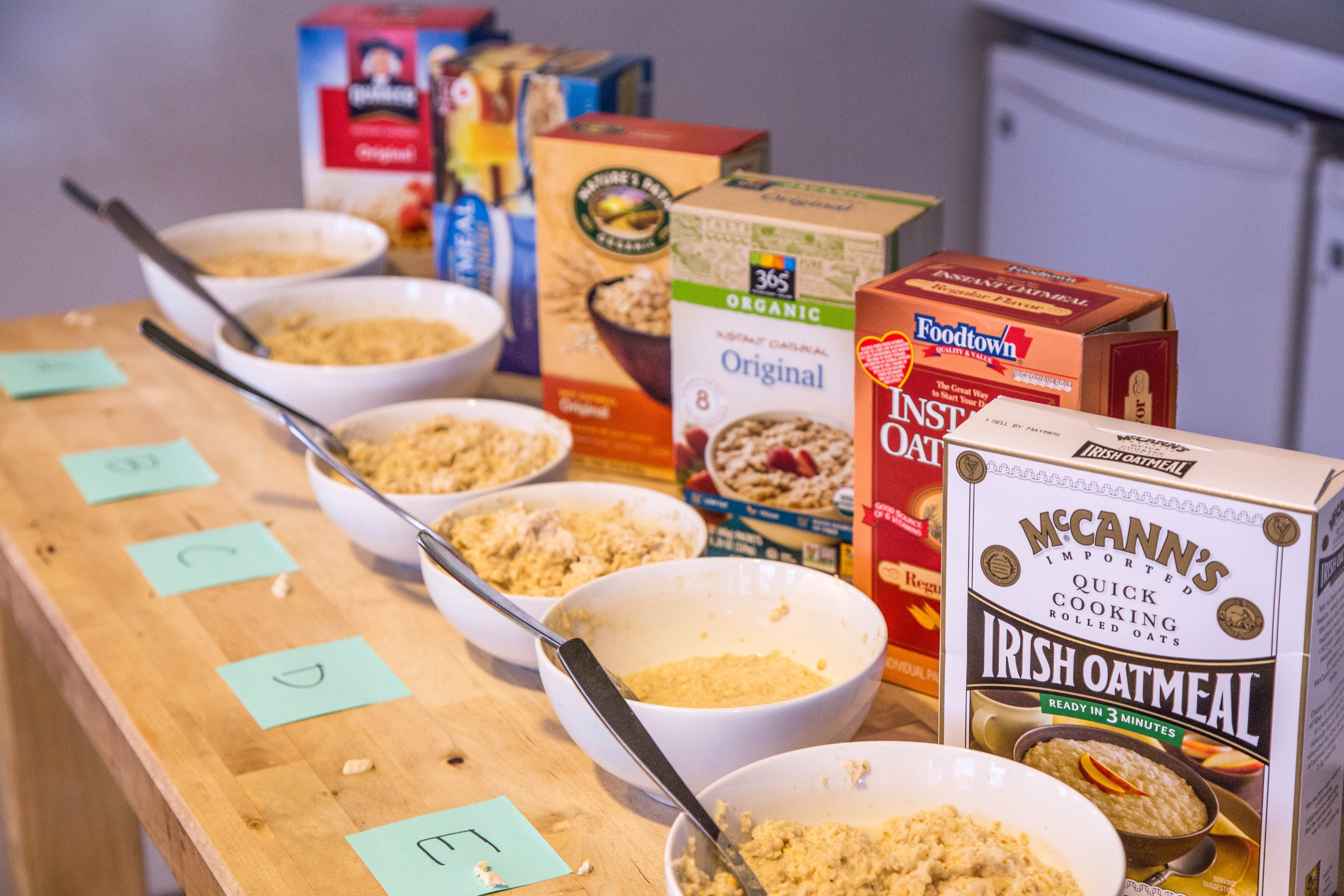 The Instant Oatmeal Taste Test: We Tried 6 Brands and Here's Our