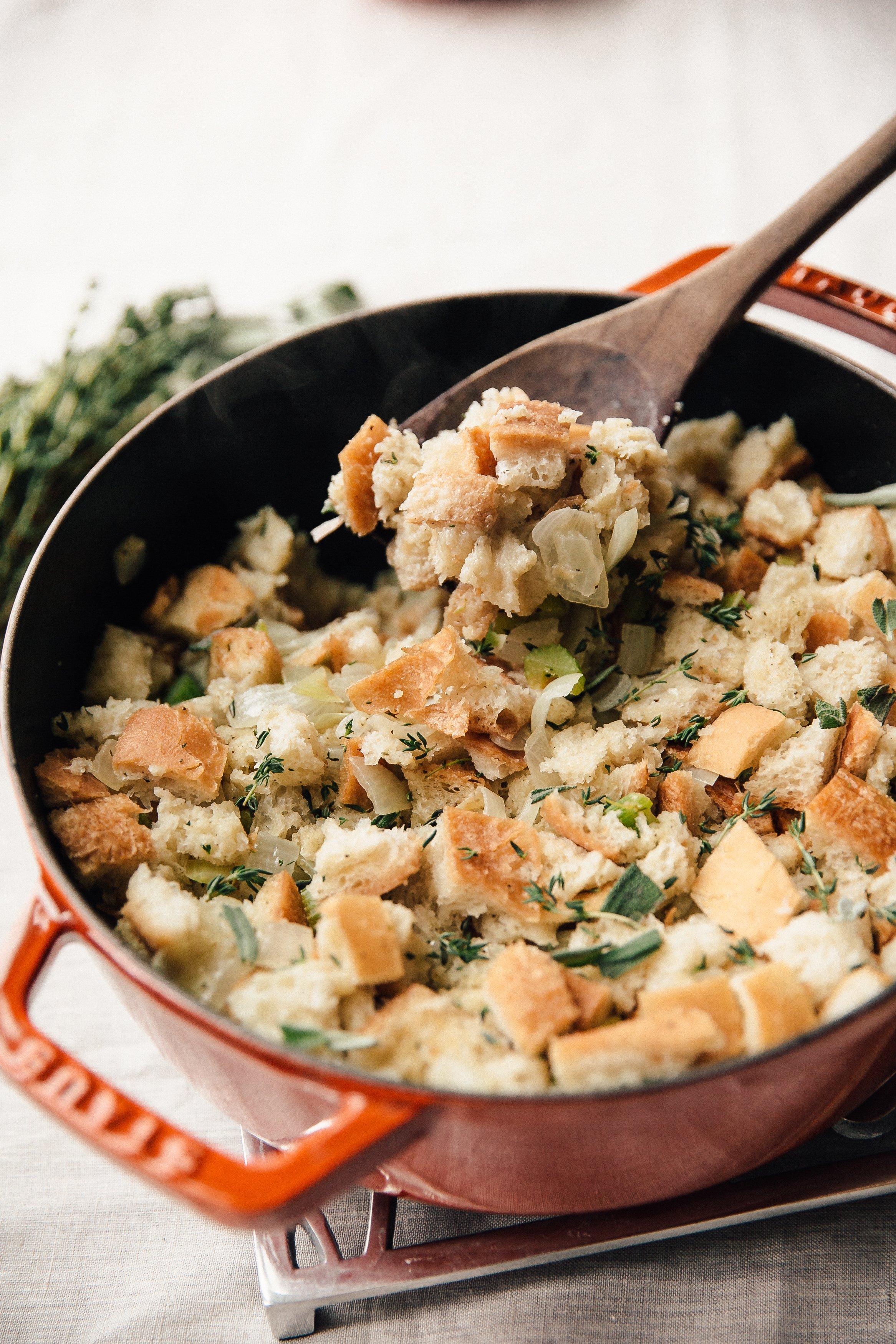 Recipe: Stovetop Thanksgiving Stuffing