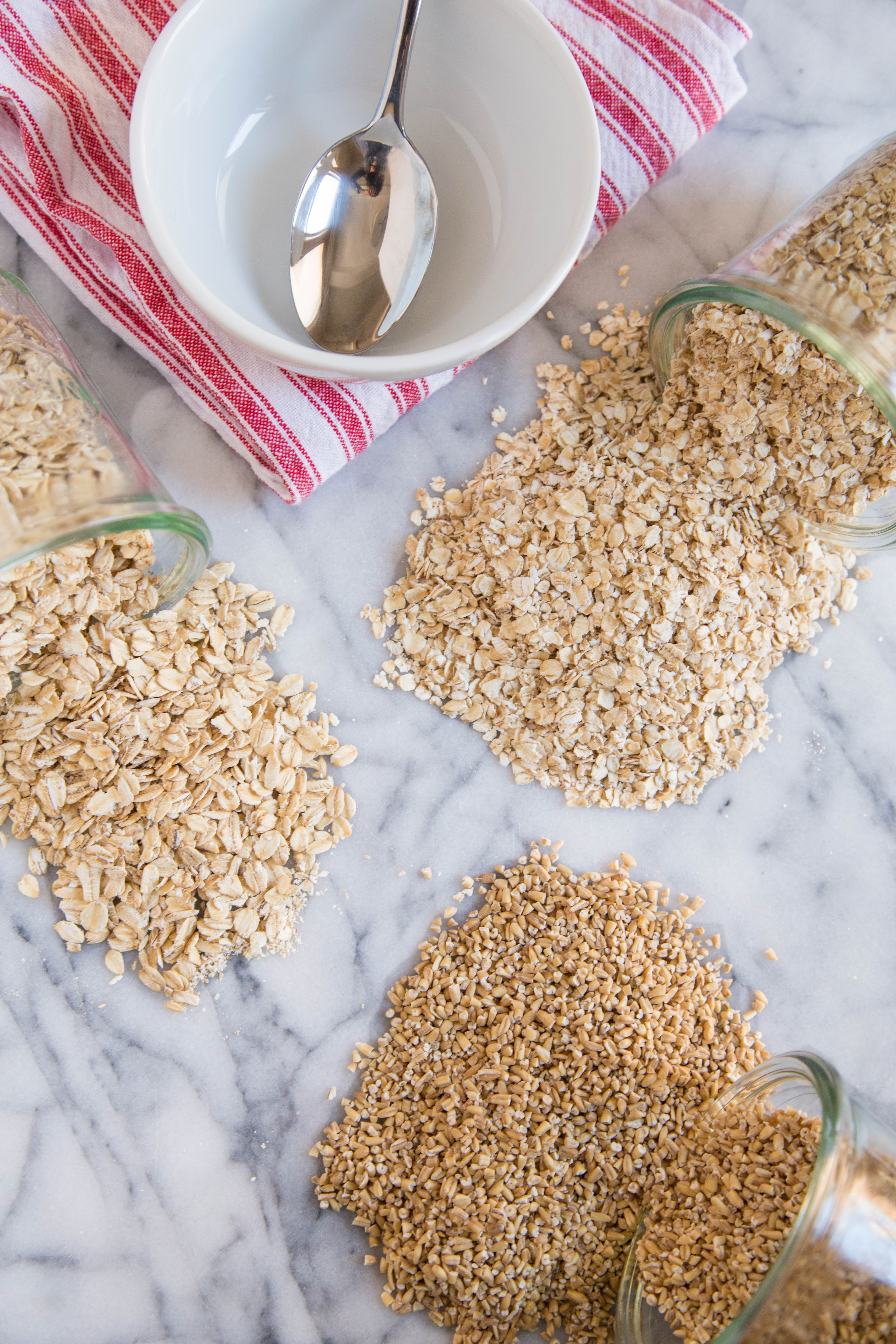 Rolled, and Instant Oats