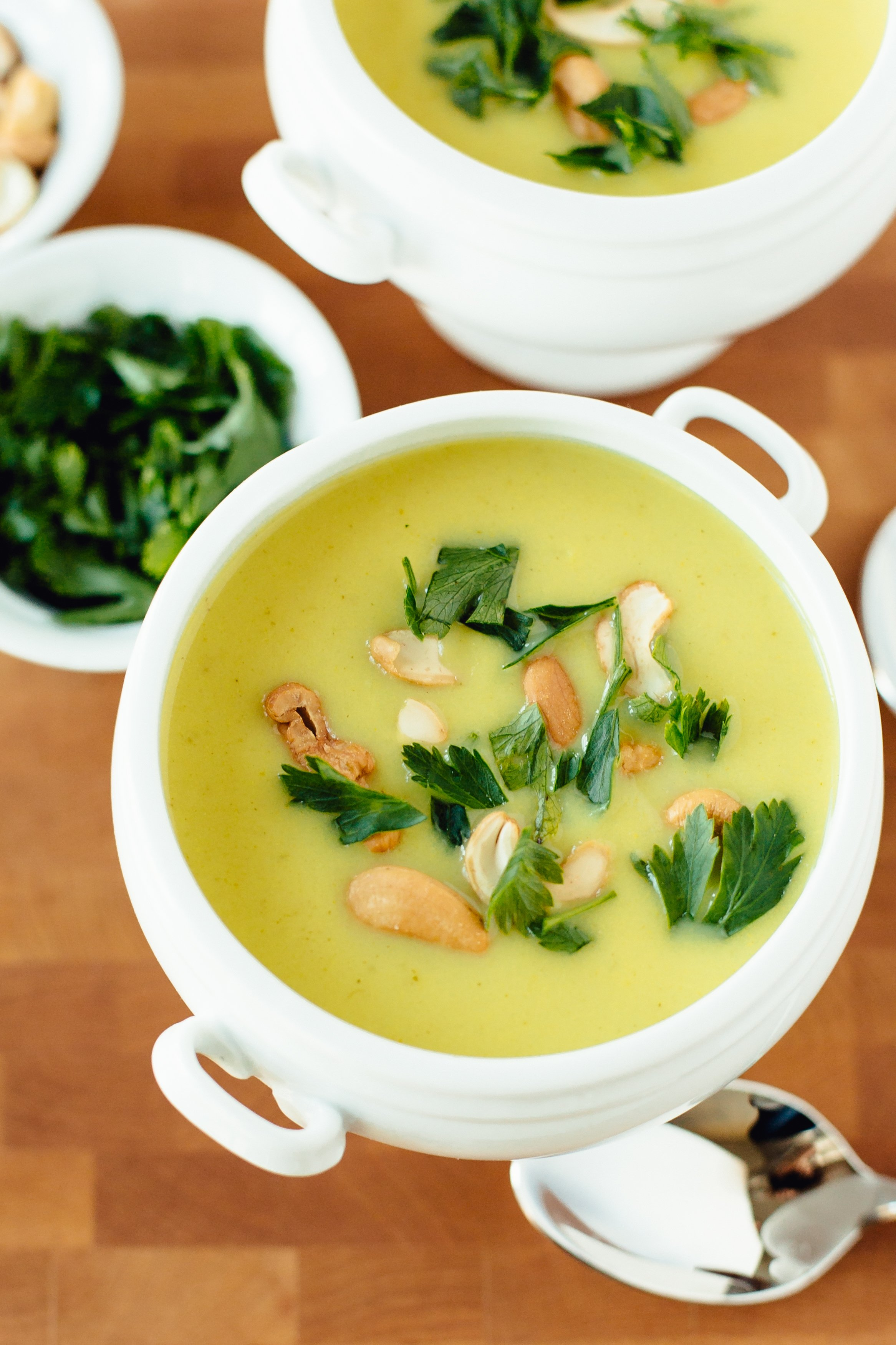 Recipe: Vegan Creamy Curried Cauliflower Soup | Kitchn