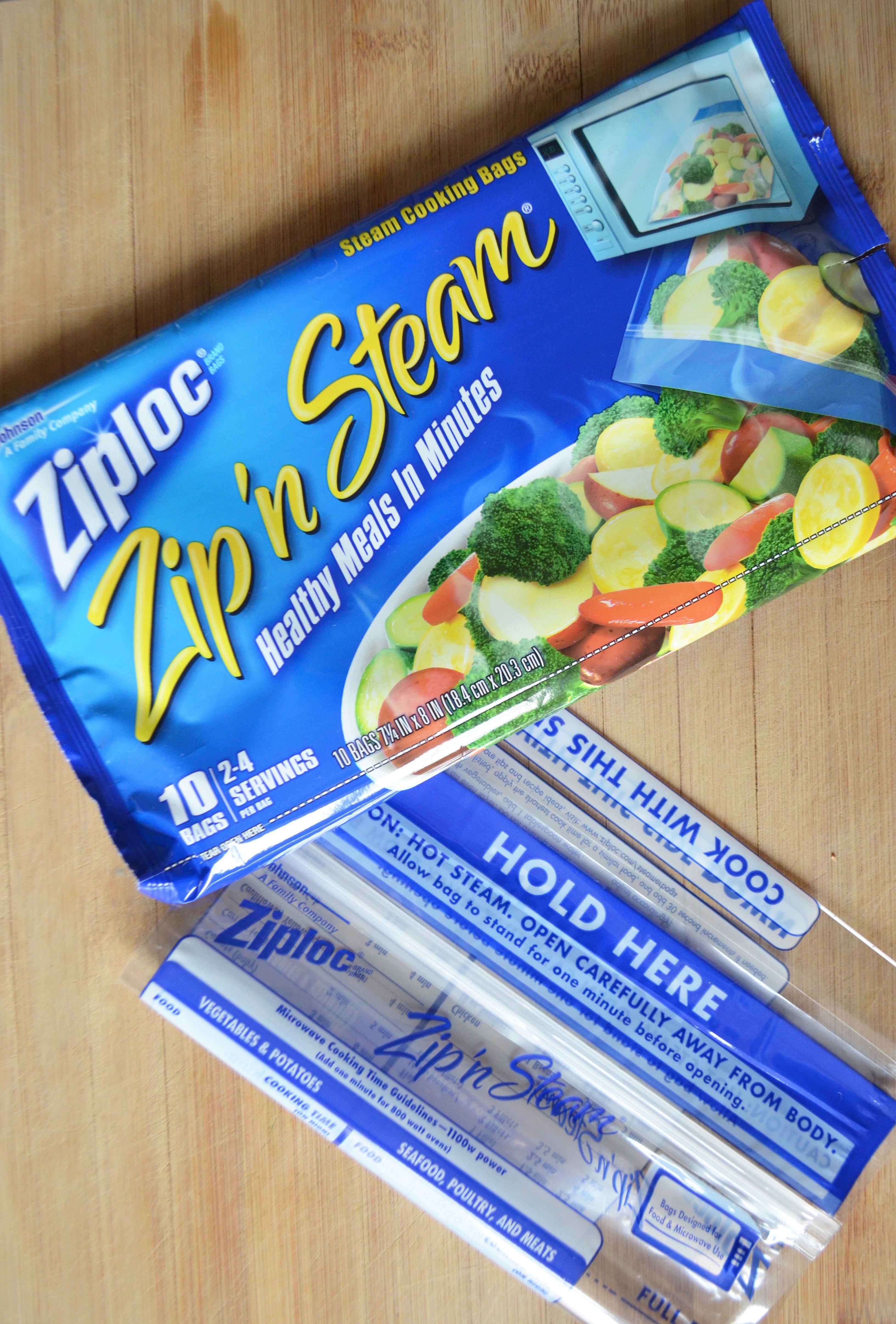 How Well Do Ziploc Zip N Steam Bags