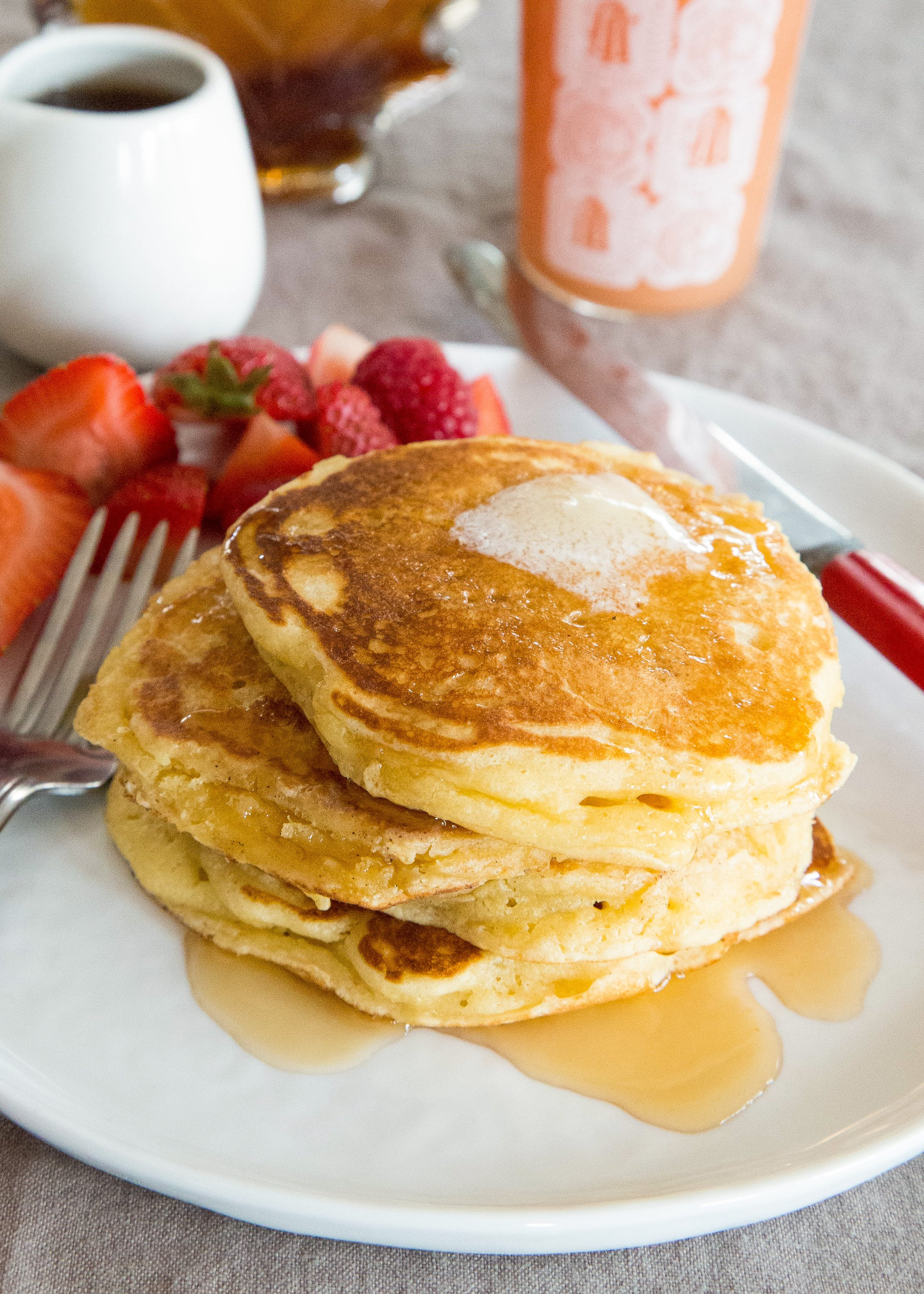 Make Thick Fluffy Diner Style Pancakes With This Simple Tip Kitchn