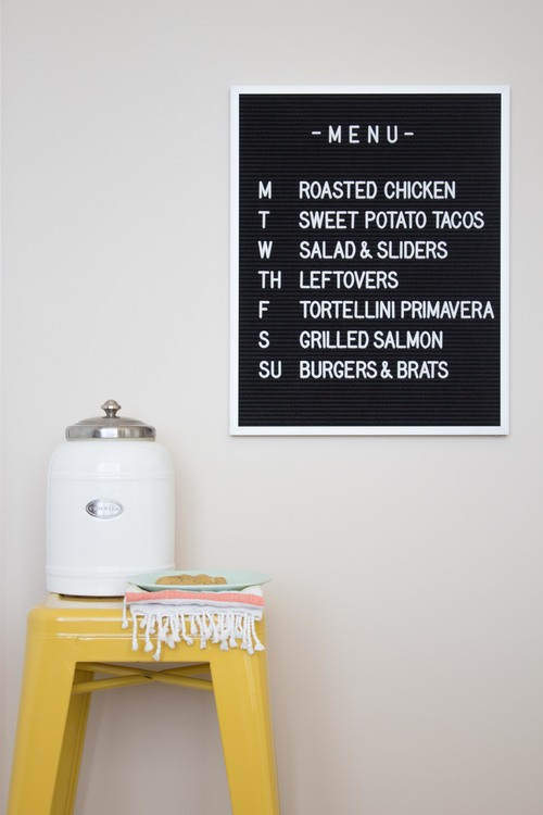 A Diner Style Menu Board For Your Kitchen Kitchn