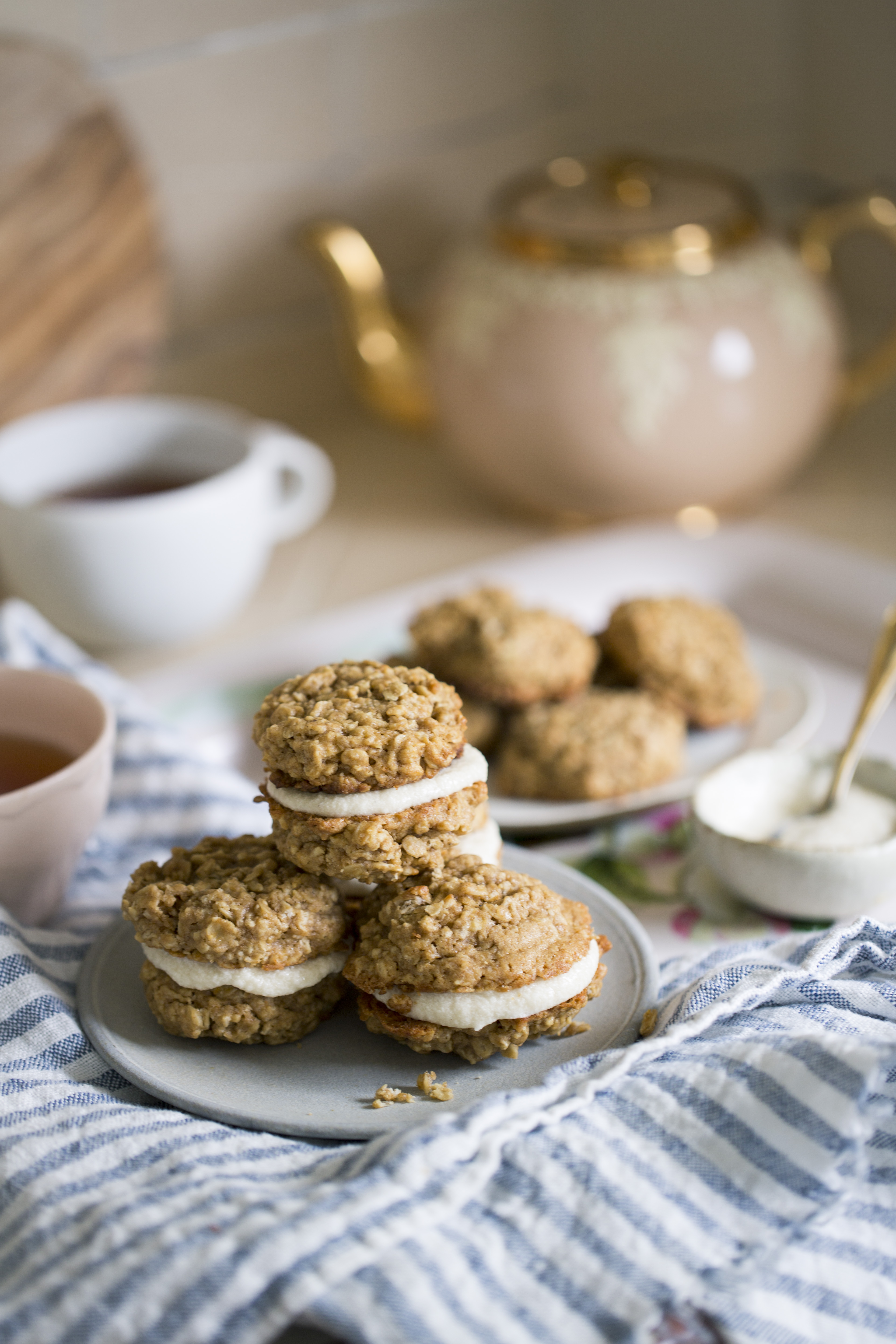 Recipe: Mini Oatmeal Cream Pies | Kitchn