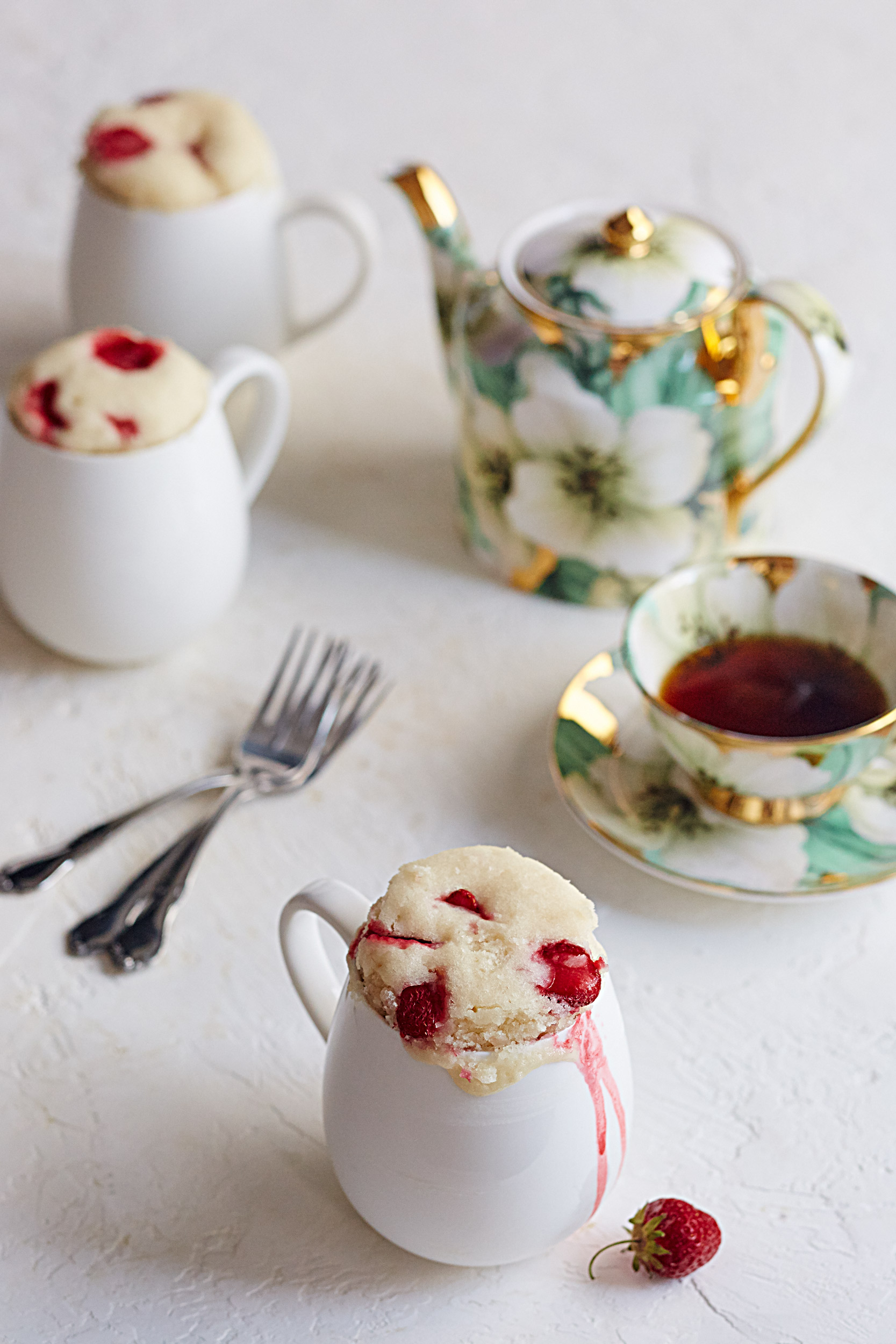 Recipe: Strawberry Shortcake in a Mug | Kitchn