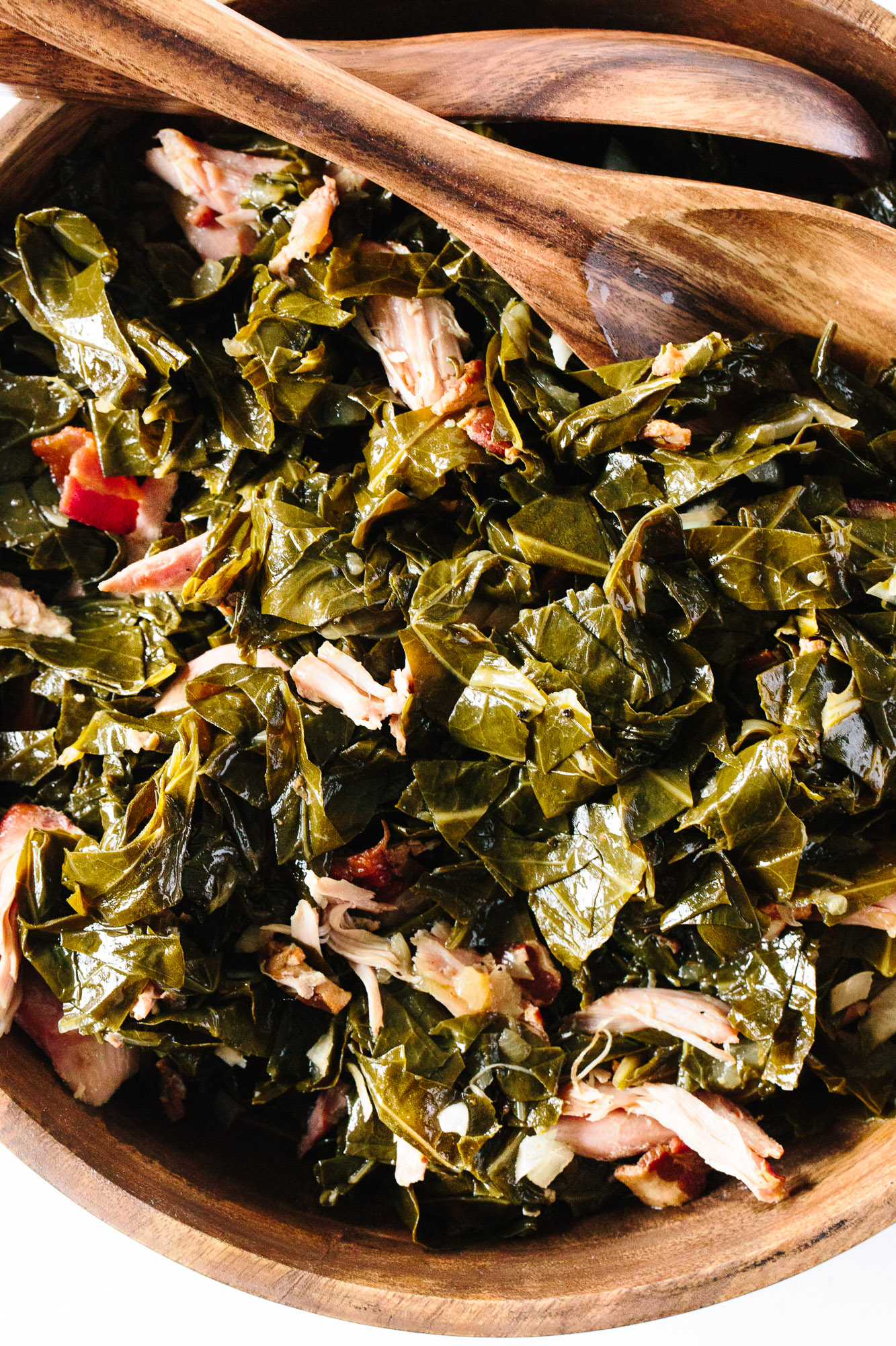 How To Cook Collard Greens in the Slow Cooker   Kitchn