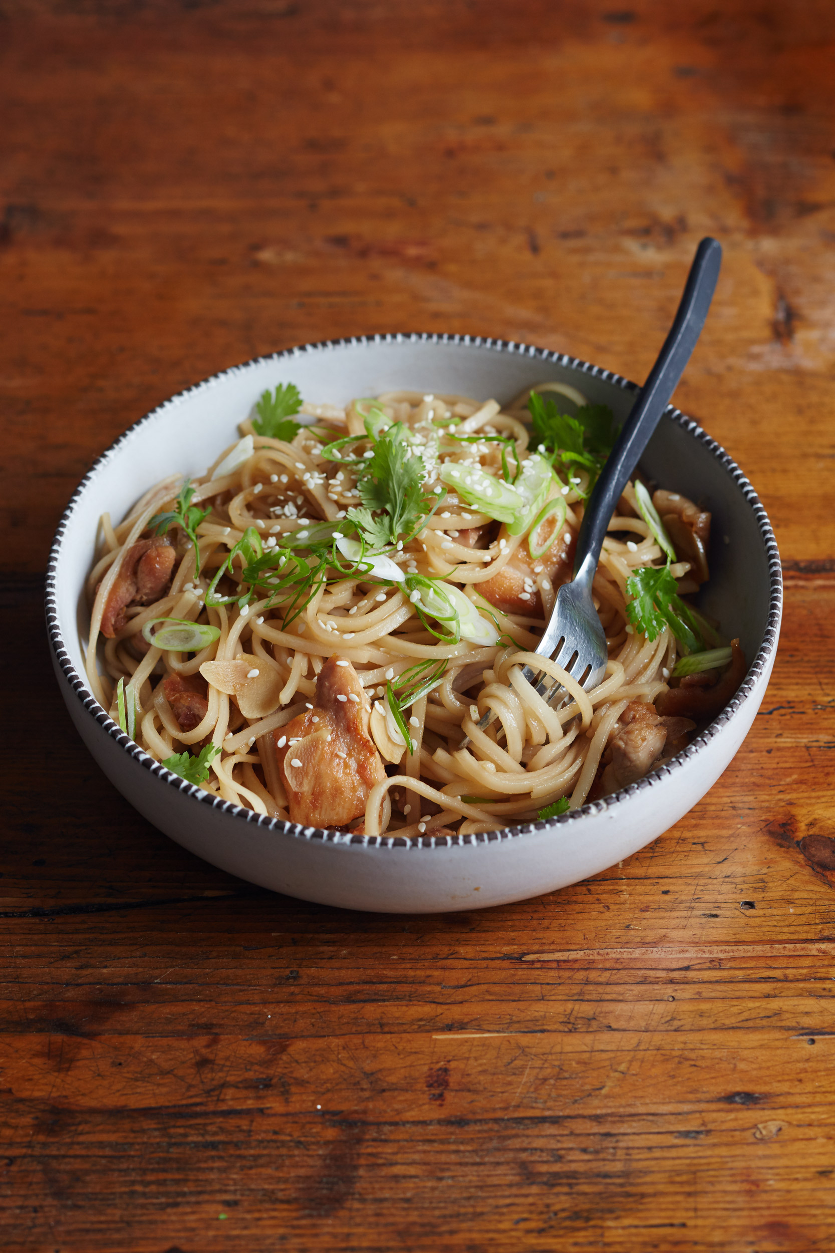 Recipe Sesame Chicken Noodle Bowl Kitchn