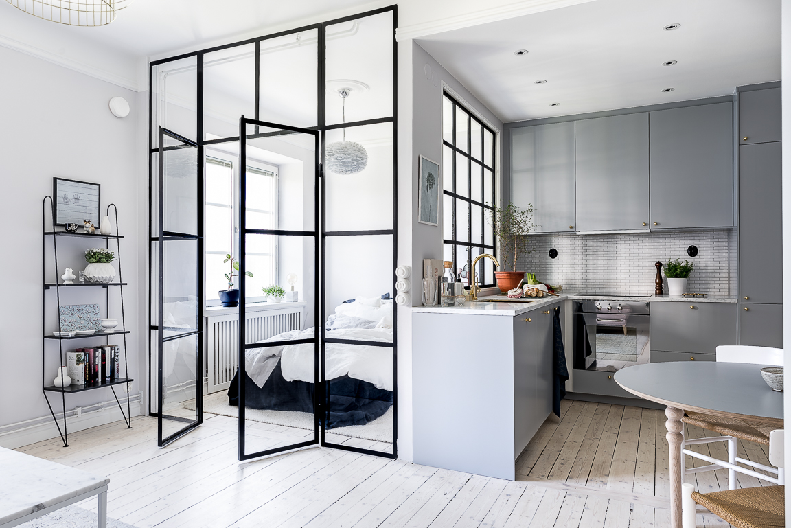 5 Ideas to Steal from This Tiny Stockholm Kitchen | Kitchn