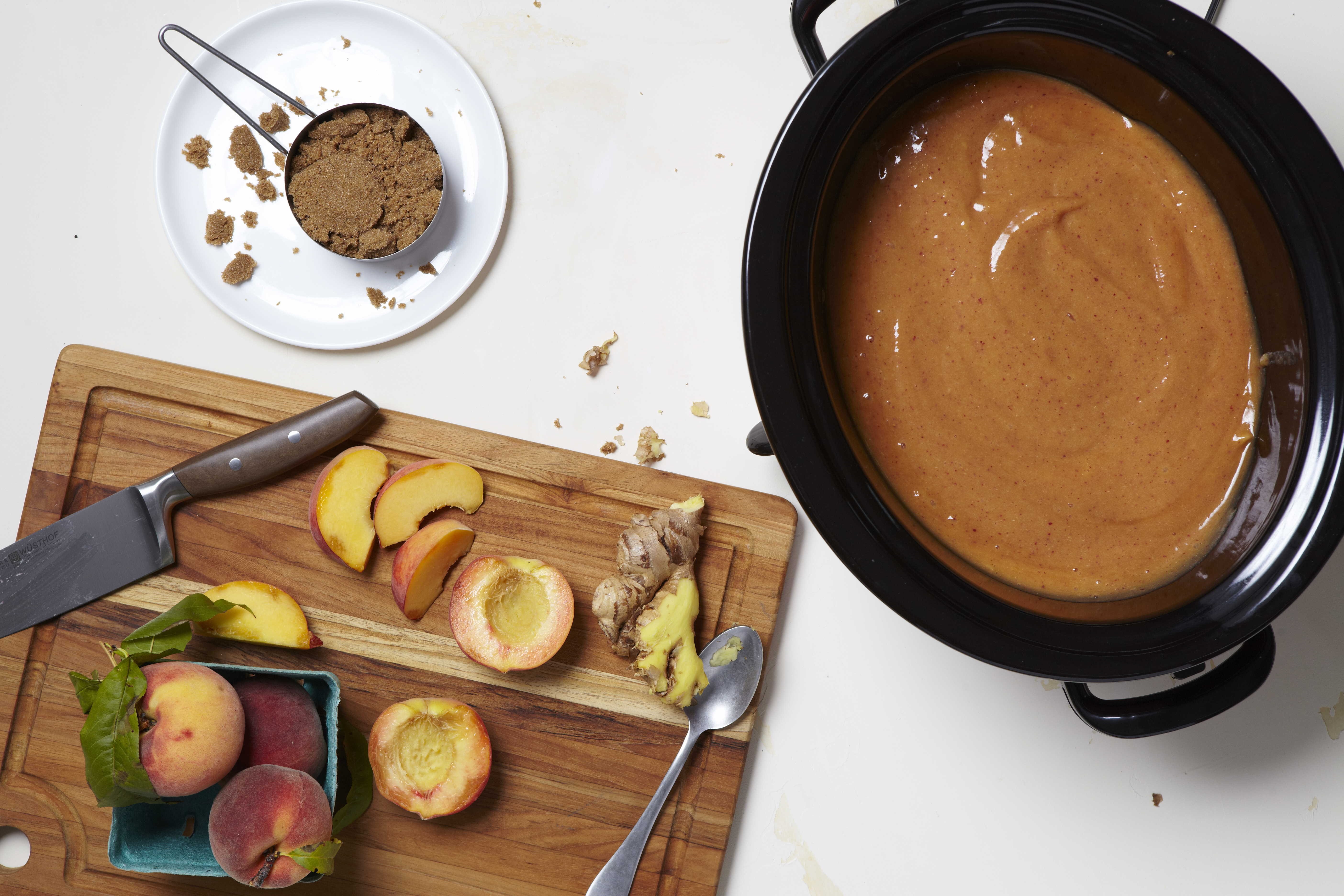 Recipe: Slow-Cooker Ginger Peach Butter   Kitchn