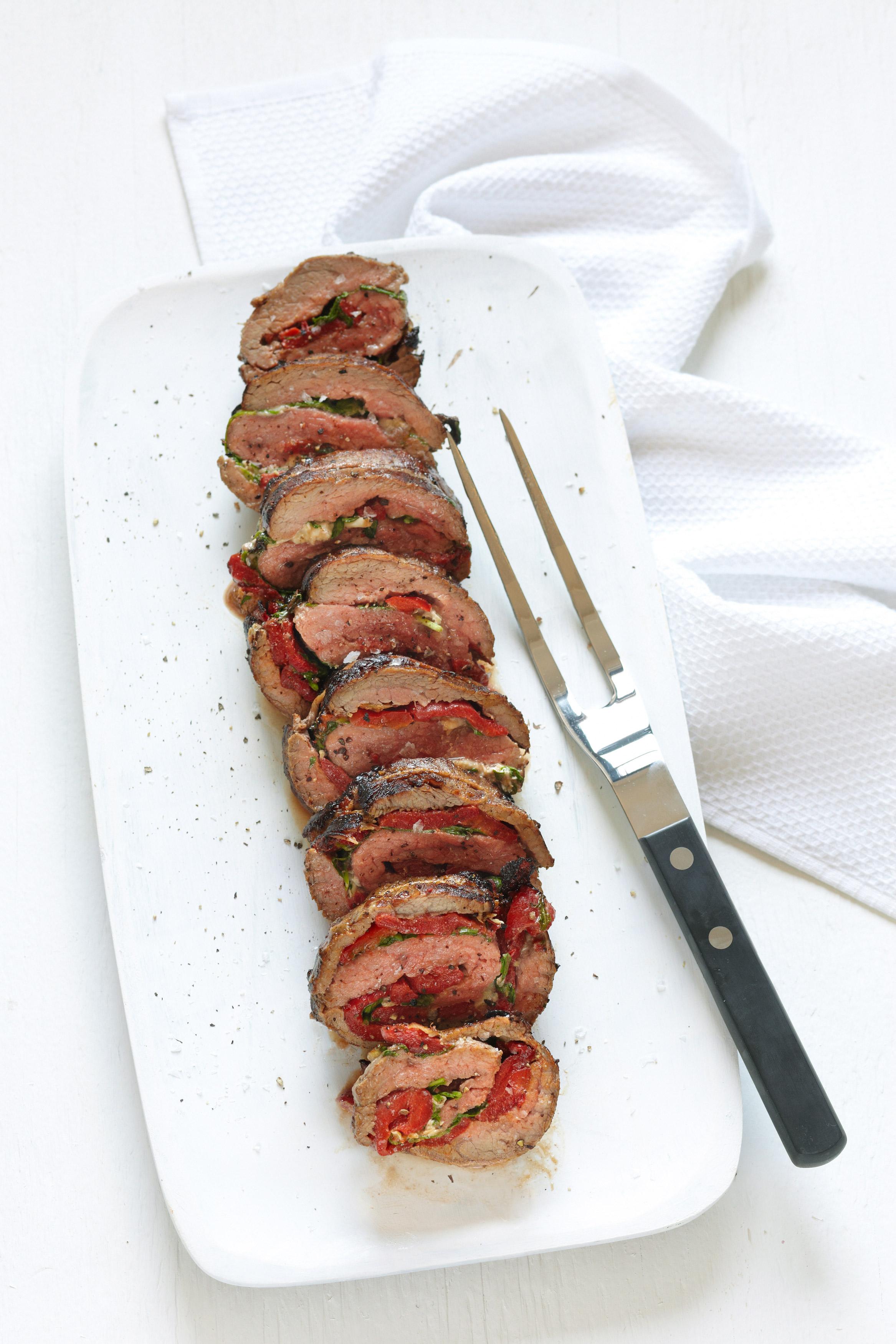 Recipe: Gorgonzola-Stuffed Steak Roll-Ups | Kitchn