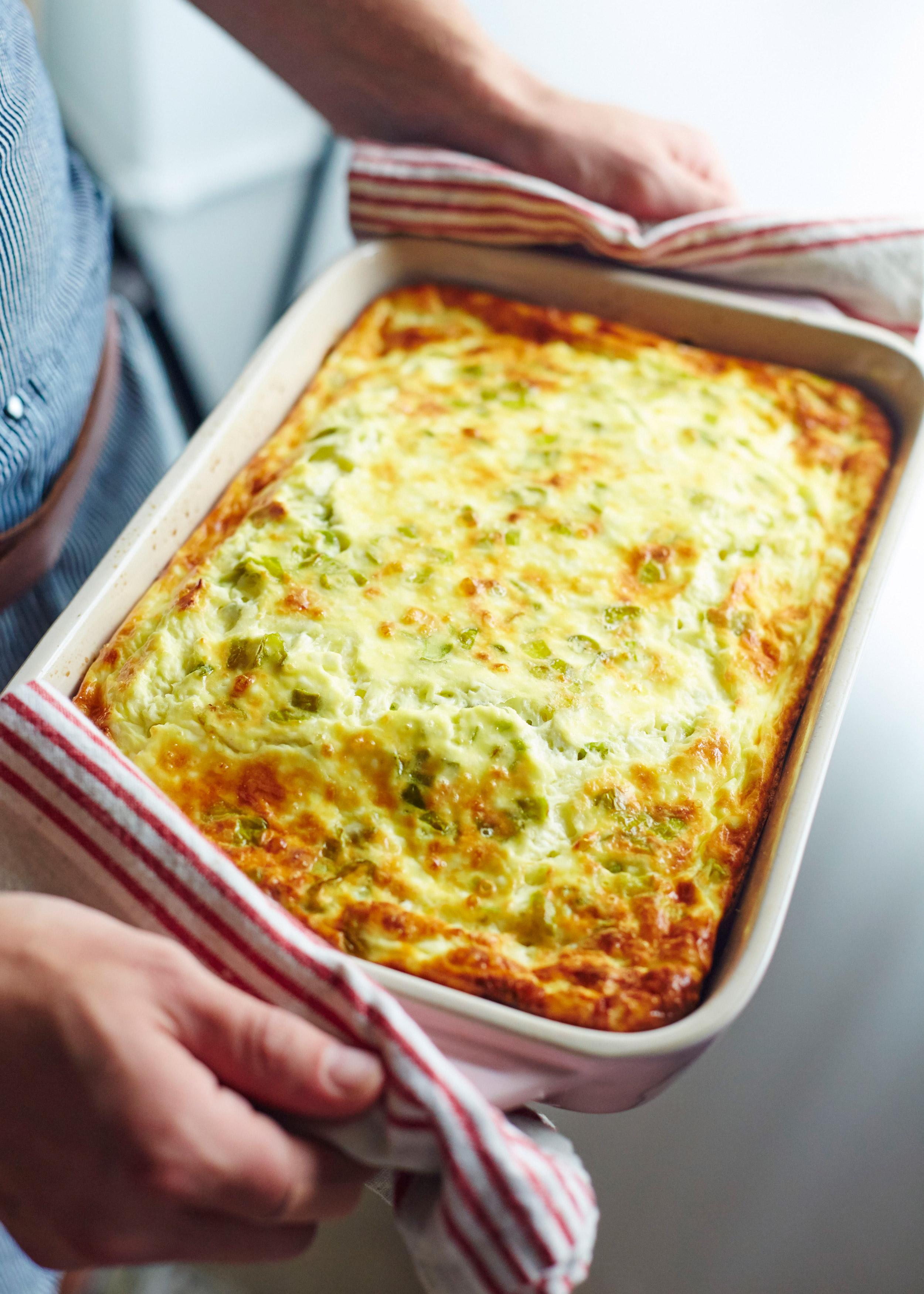 Recipe: Easy Hatch Chile Egg Casserole | Kitchn