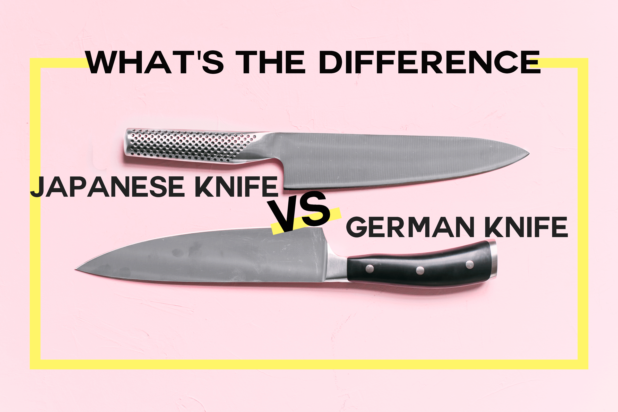What's the Difference Between German and Japanese Knives? | Kitchn