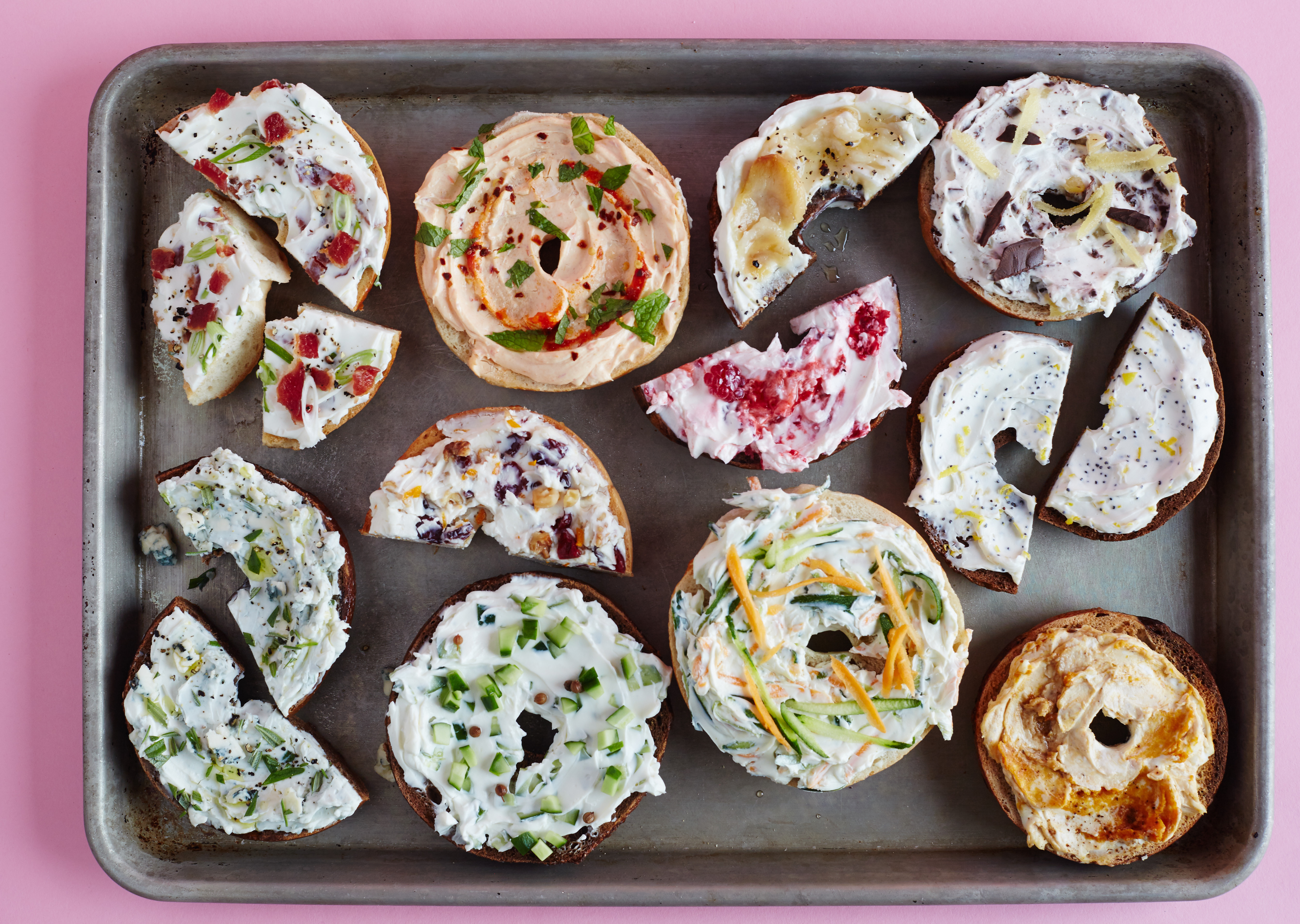 11 Clever Ways To Turn Plain Cream Cheese Into A Flavored Schmear