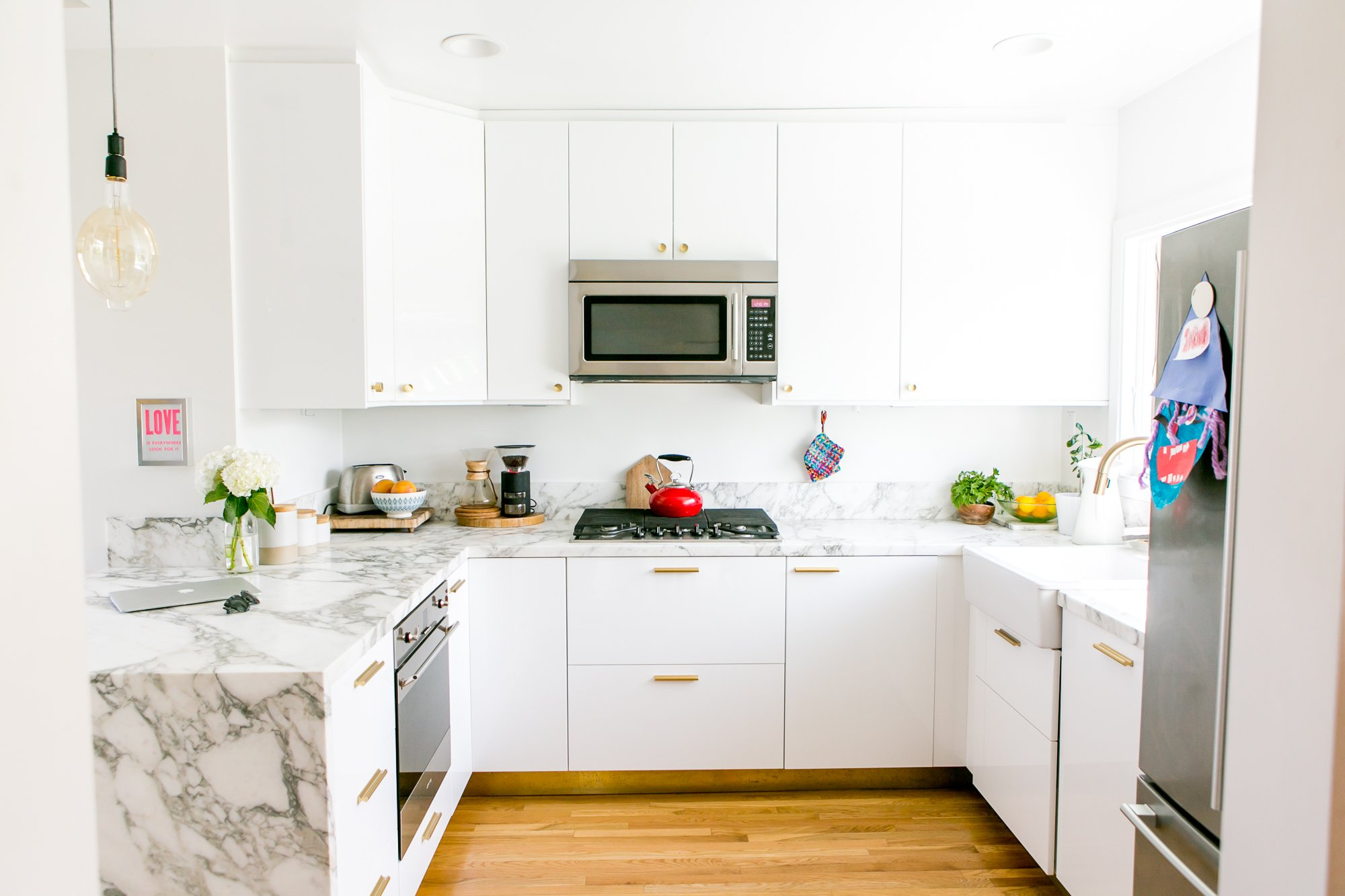 IKEA Kitchen of the Week: Small, Glam, and Smart | Kitchn