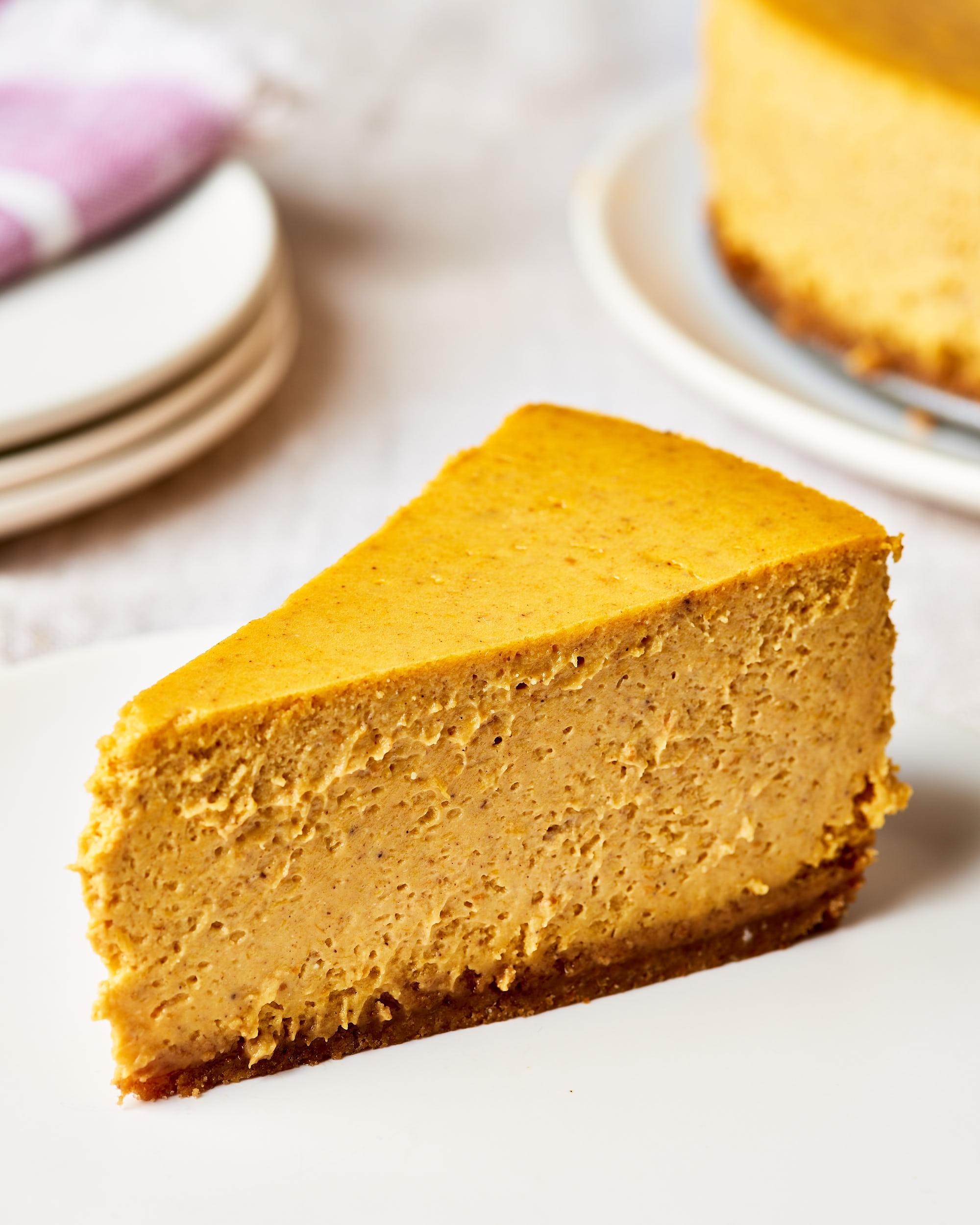How To Make Pumpkin Cheesecake Kitchn