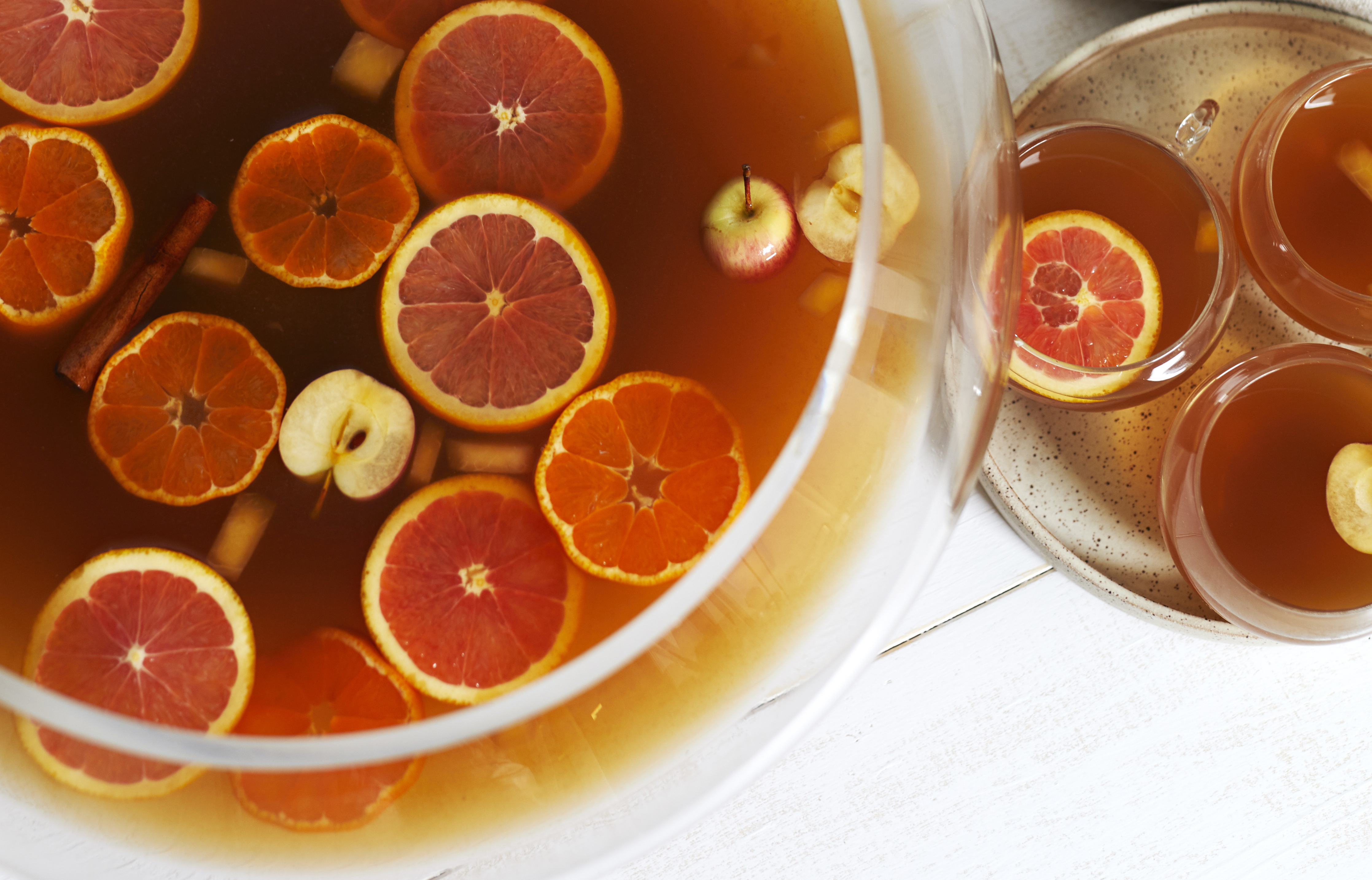 Recipe Mexican Christmas Fruit Punch Ponche Navideno Kitchn