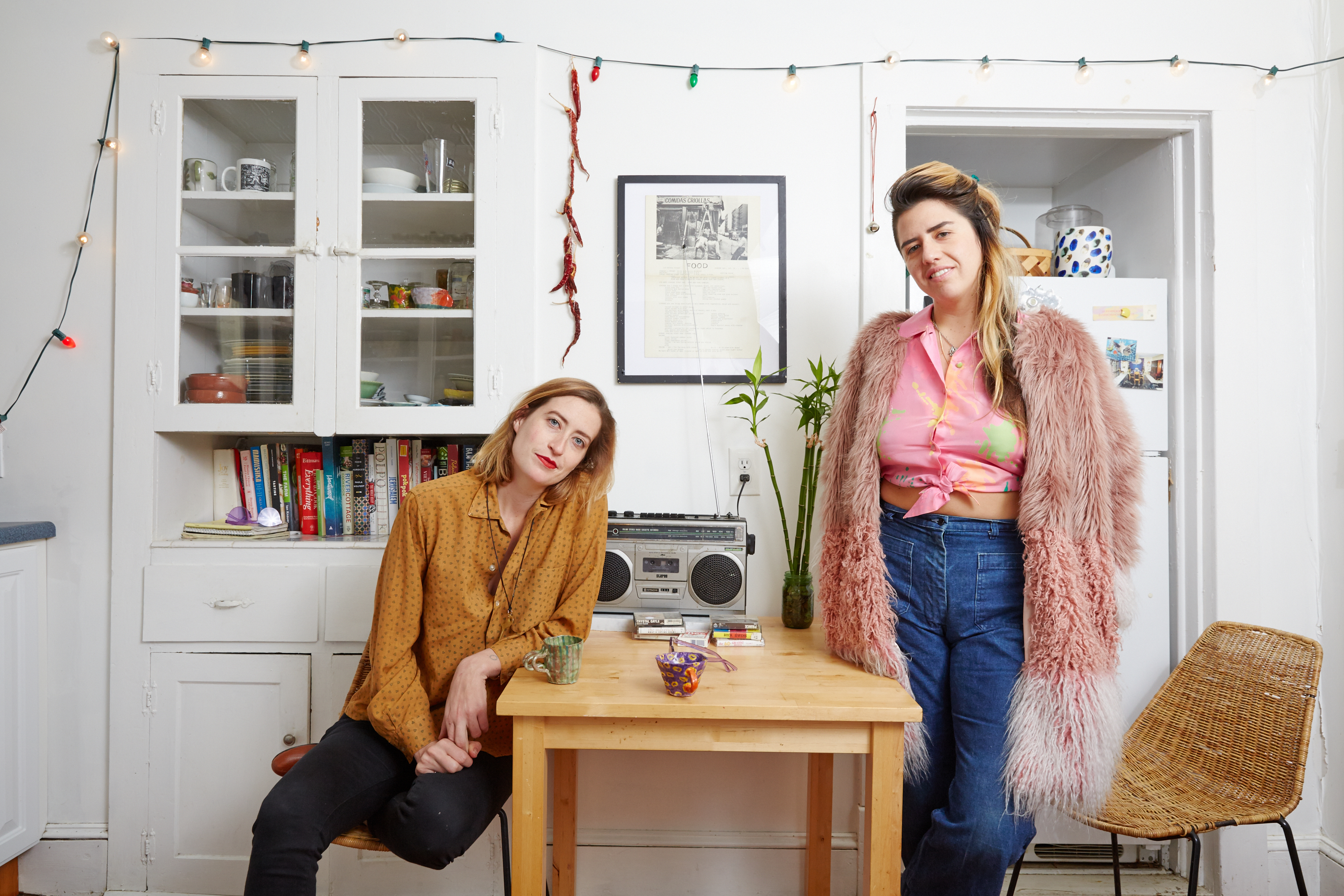 26bc48563c At Home in Hudson with Artist-Chefs Hannah Black and Carla Perez-Gallardo  of Lil Deb s Oasis