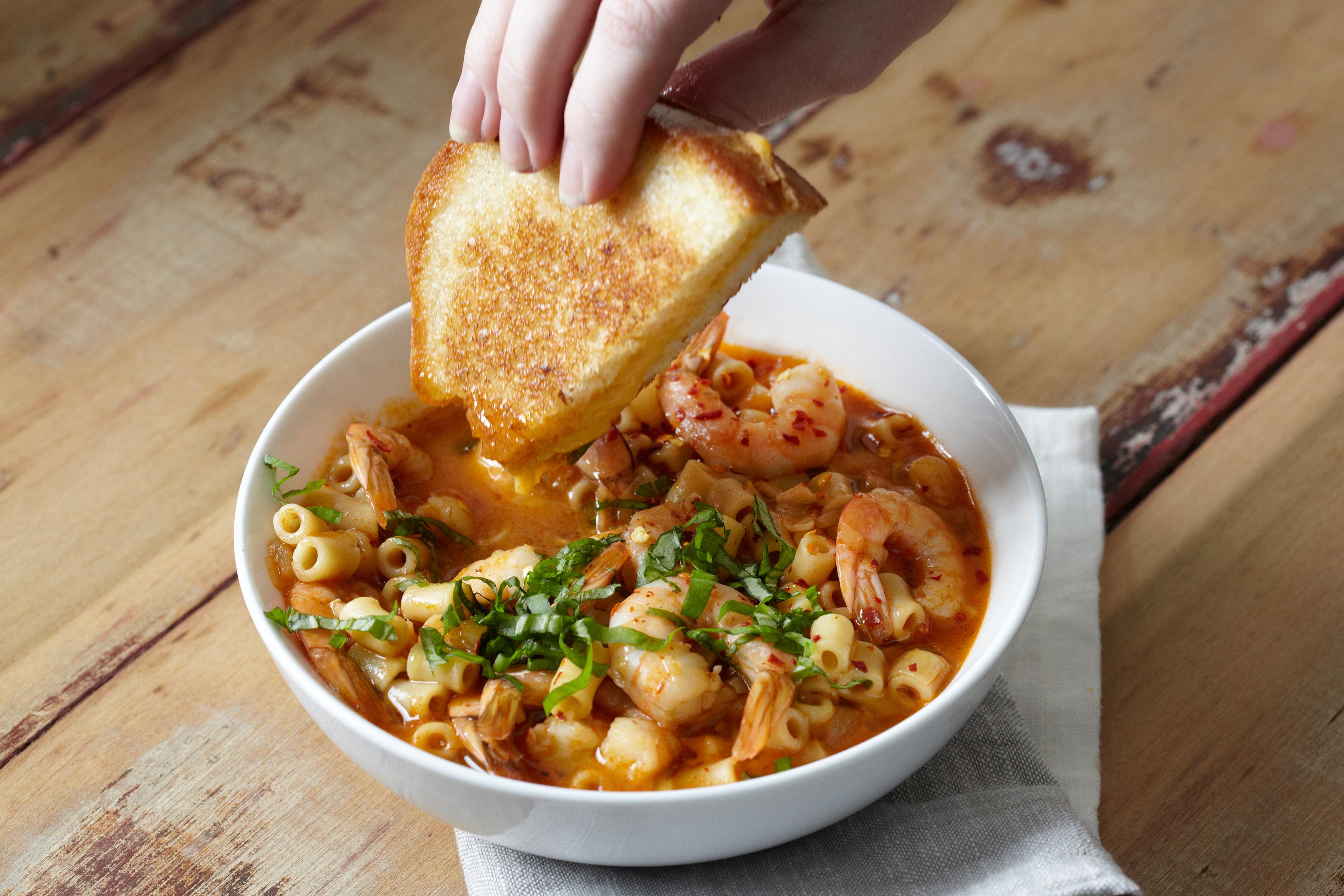Recipe: Spicy Tomato and Shrimp Soup | Kitchn