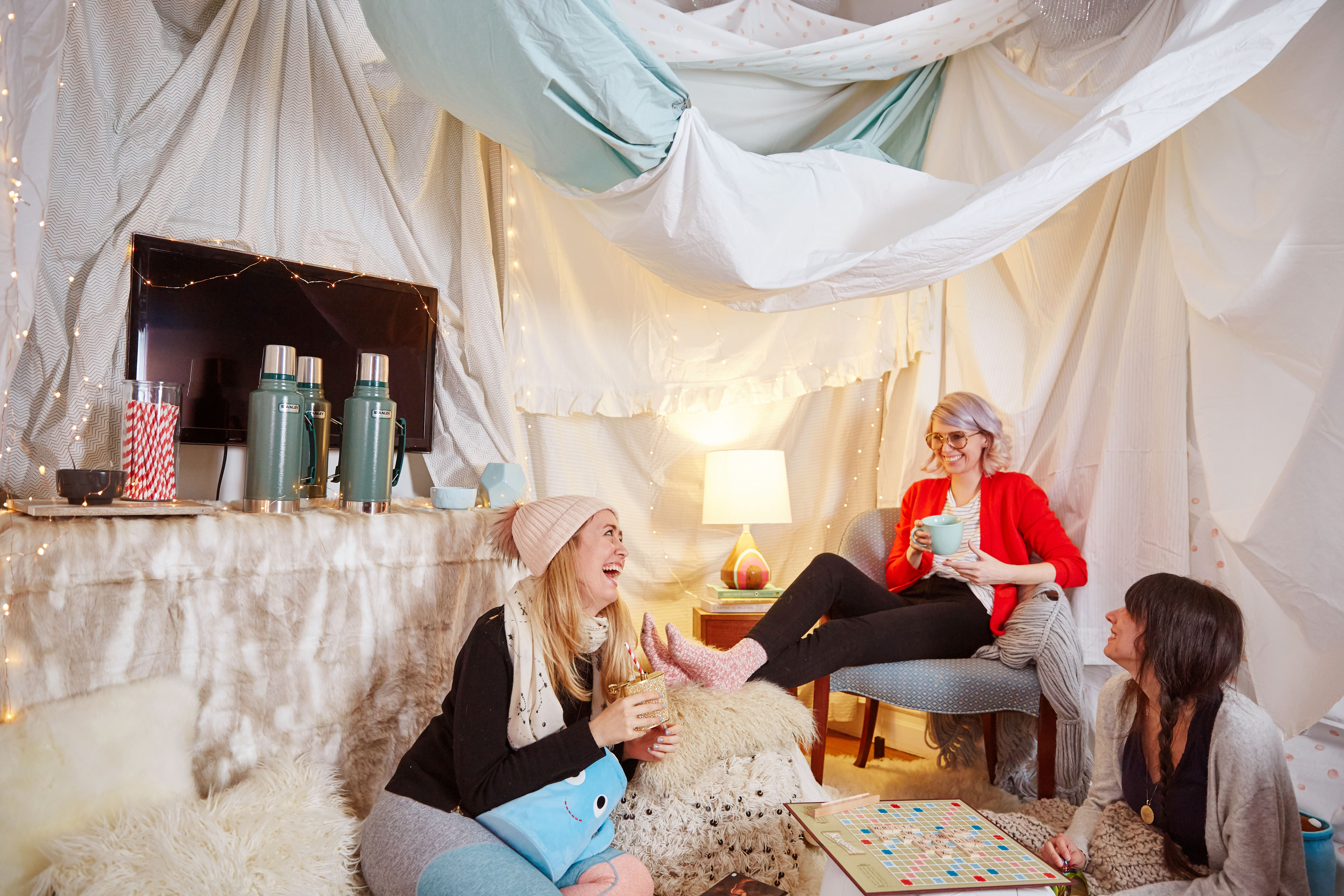 5 Reasons You Should Build A Fort In Your Living Room Kitchn